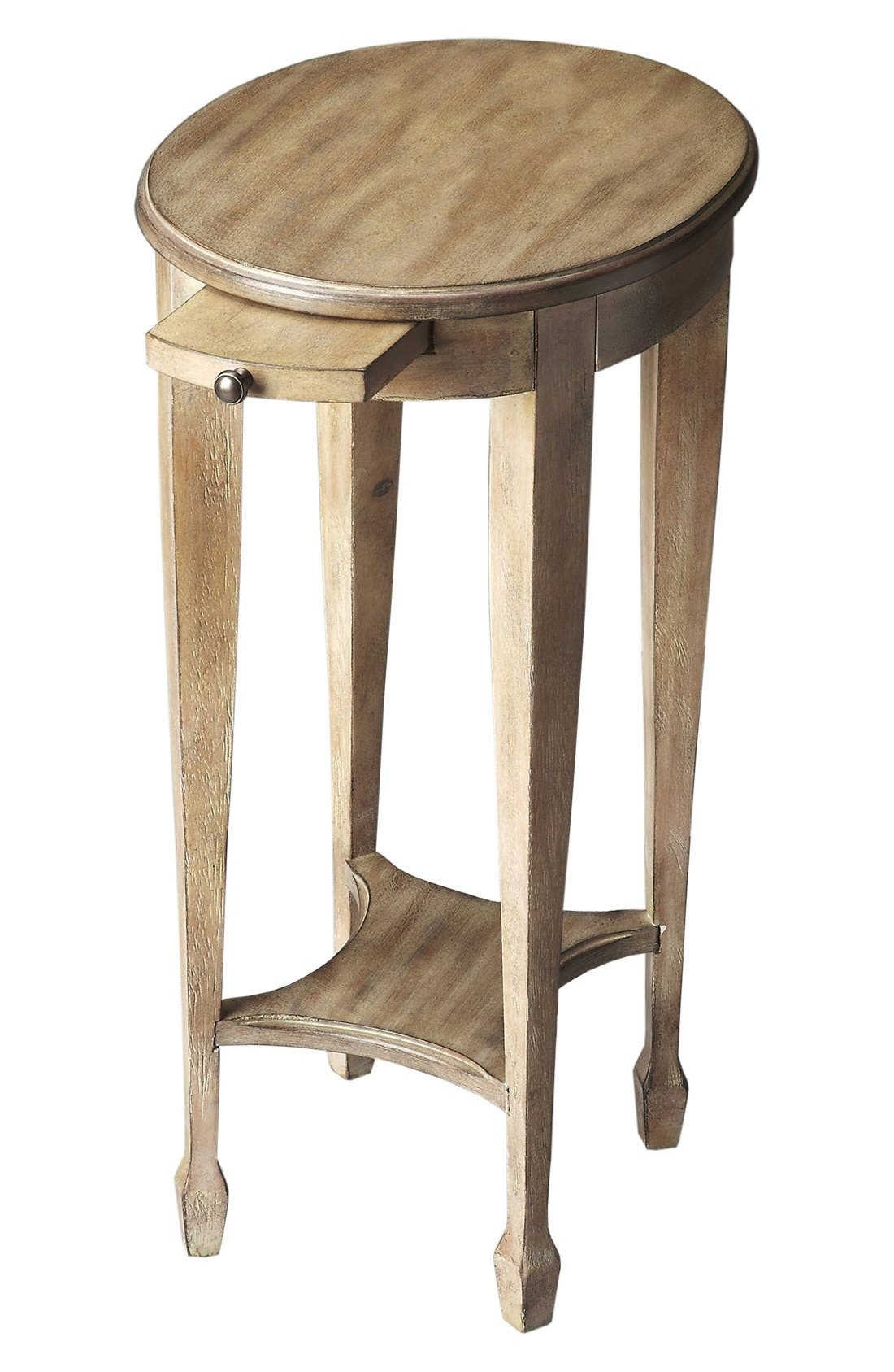 Wood Accent Table,                             Main thumbnail 1, color,                             Brown