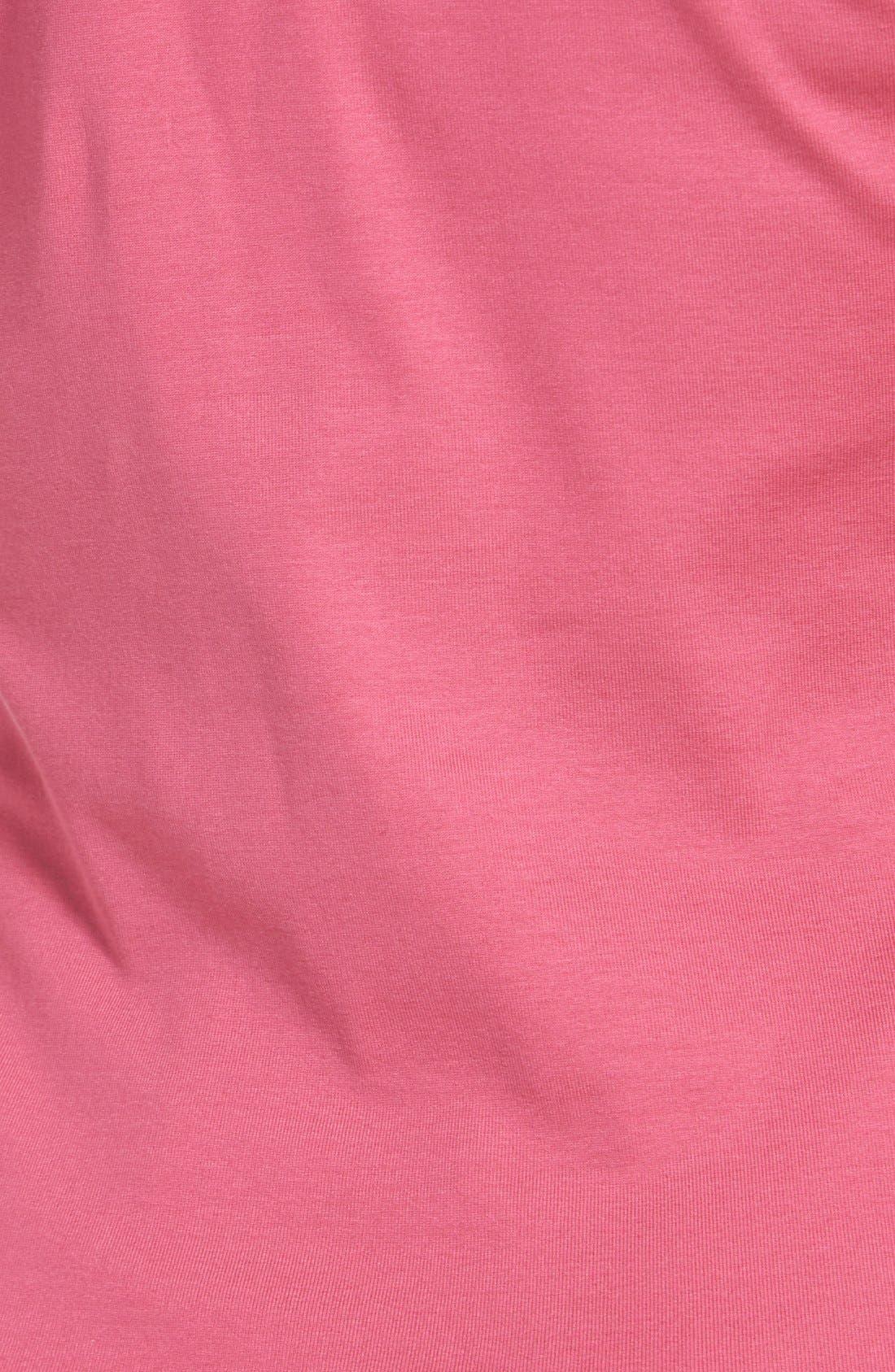 Alternate Image 5  - Lafayette 148 New York Shirred Faux Wrap Top (Regular & Petite)