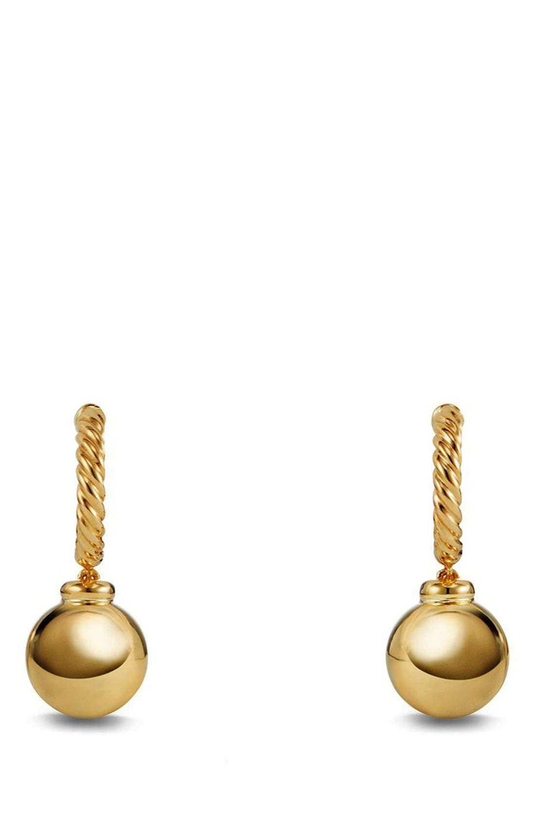 DAVID YURMAN Solari Hoop Earrings in 18K Gold