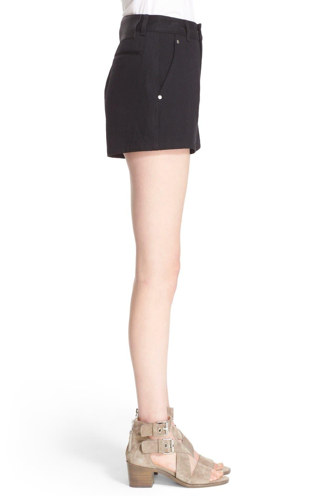 Alternate Image 3  - rag & bone 'Branson' High Waist Shorts