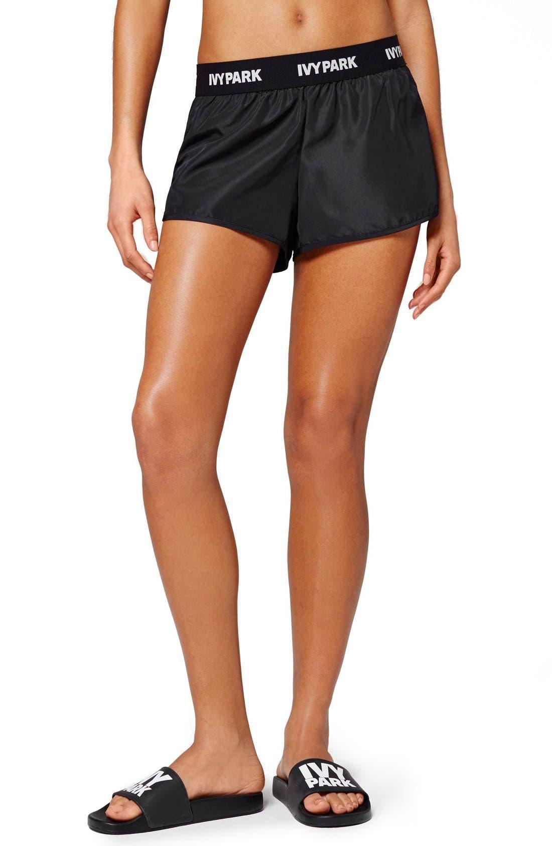 IVY PARK® Logo Elastic Waist Running Shorts