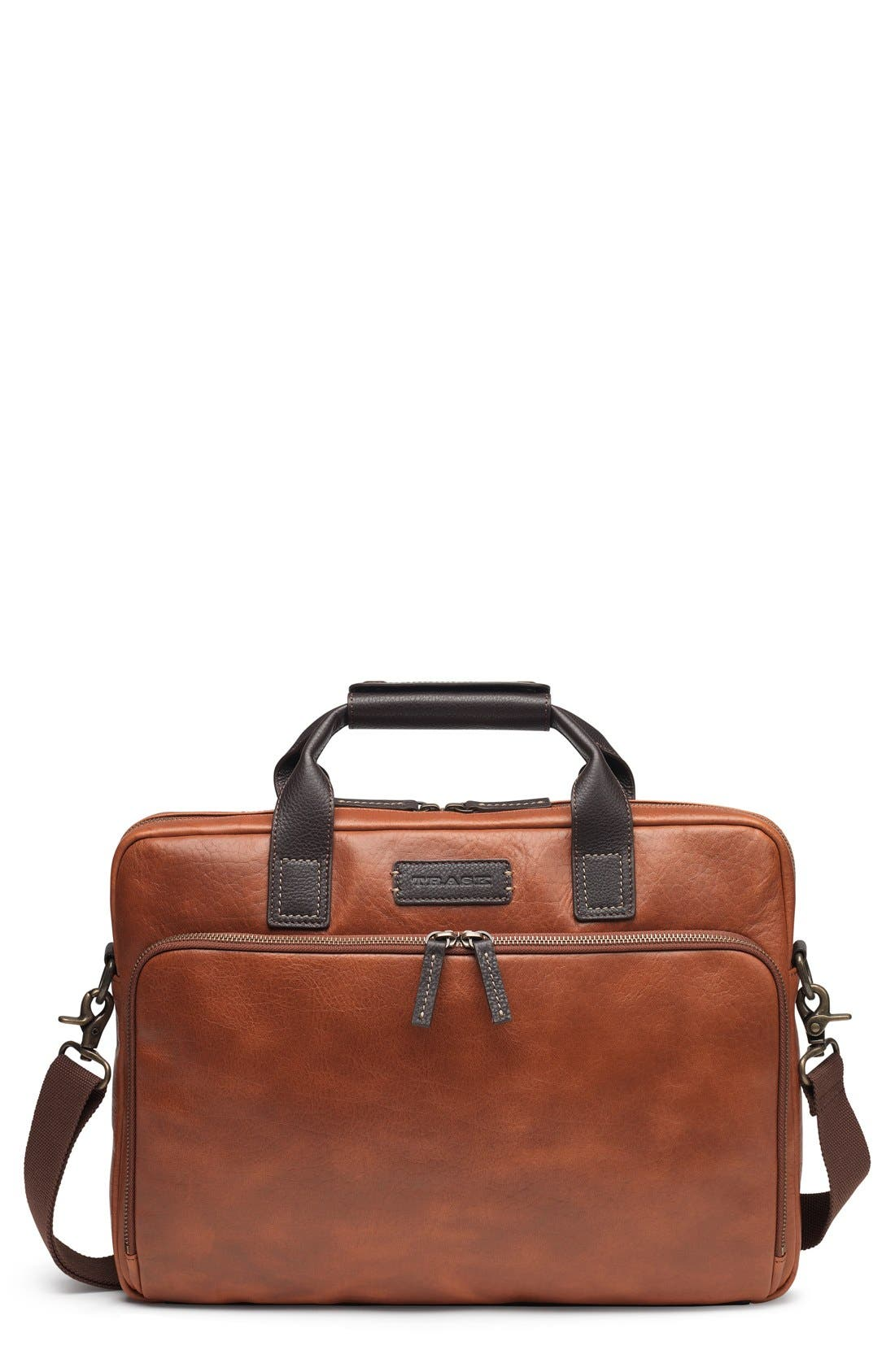 TRASK Jackson Leather Tote
