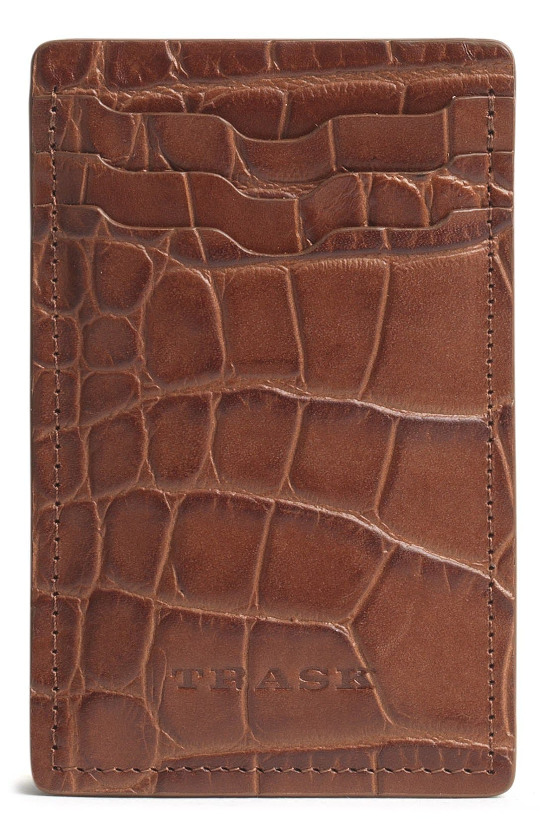 TRASK Jackson Money Clip Wallet