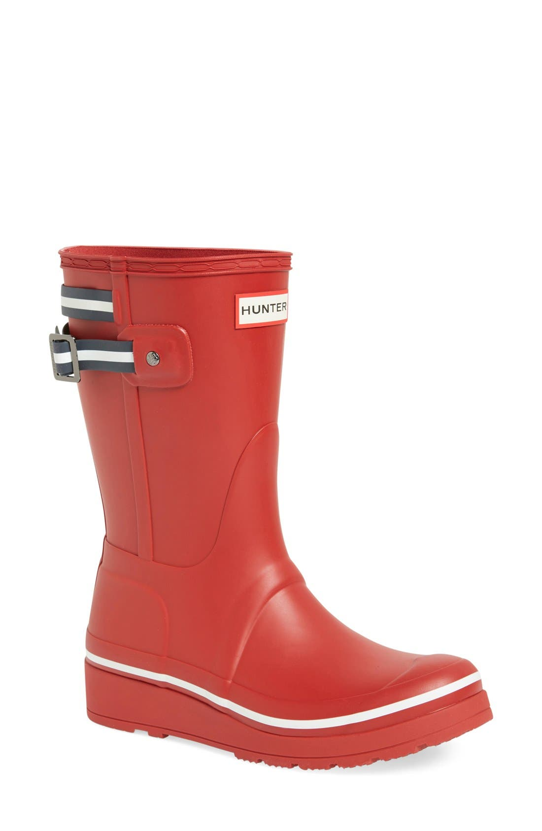 Alternate Image 1 Selected - Hunter 'Original Short' Wedge Rain Boot (Women)