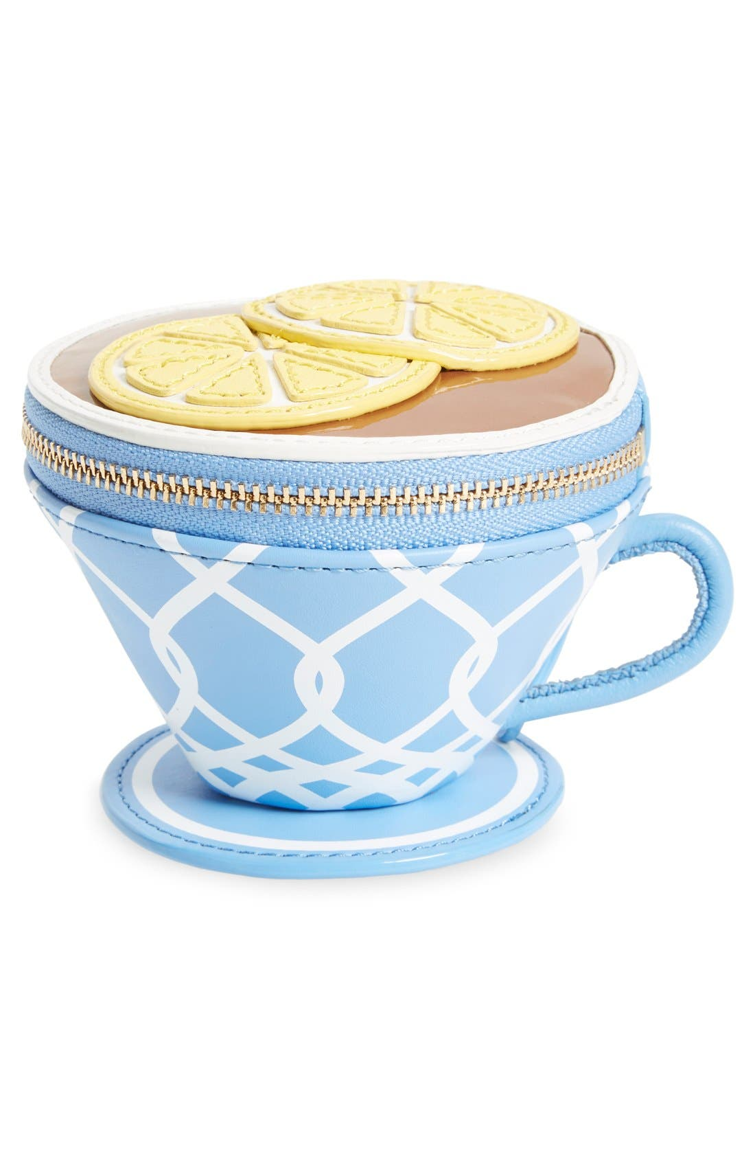 Alternate Image 3  - kate spade new york 'tea cup' leather coin purse