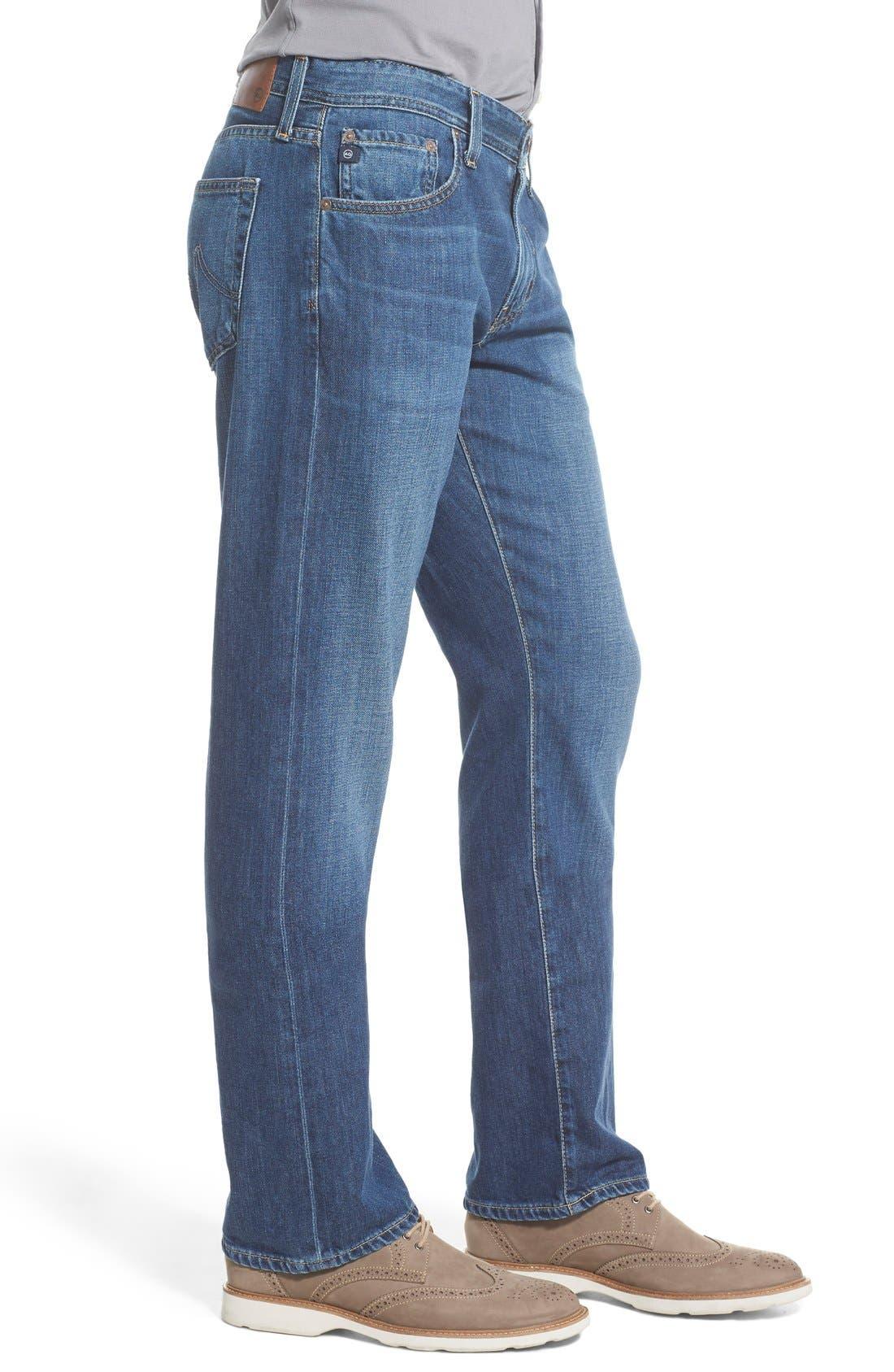 Alternate Image 7  - AG 'Protégé' Straight Leg Jeans (Tate)
