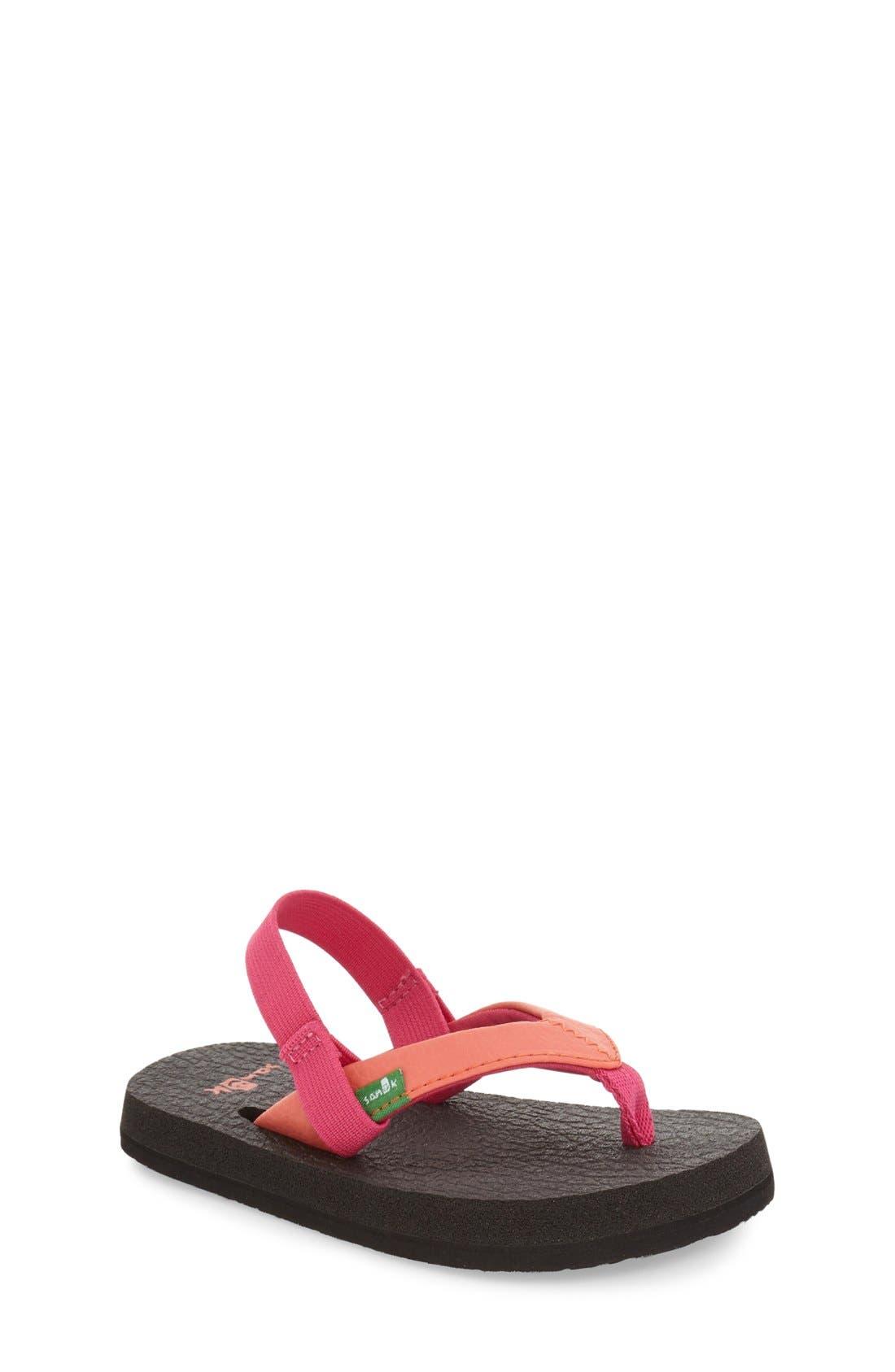 Alternate Image 1 Selected - Sanuk 'Yoga Mat' Sandal (Toddler, Little Kid & Big Kid)