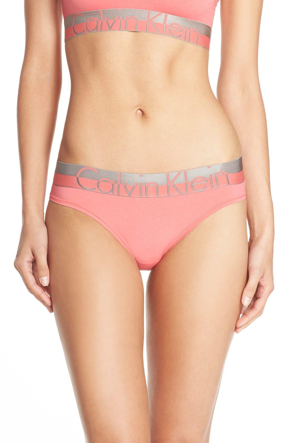 Main Image - Calvin Klein 'Magnetic Force' Microfiber Bikini Briefs