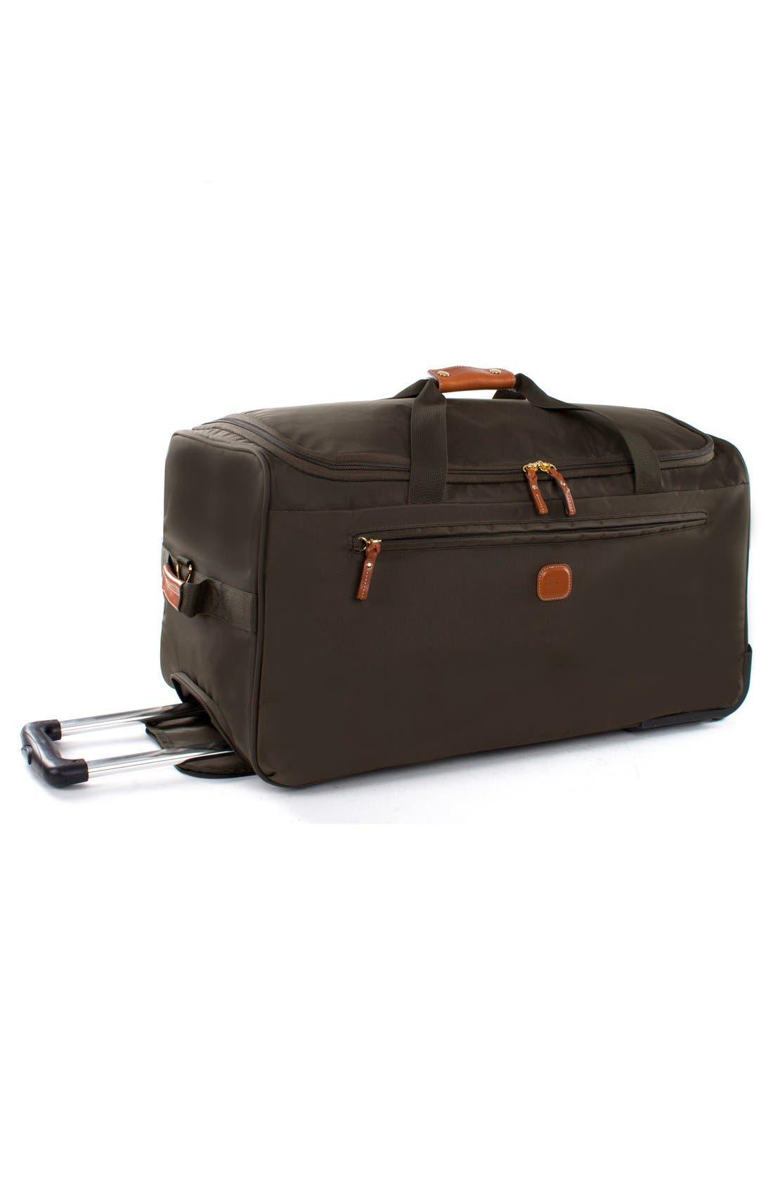 X-Bag 28-Inch Rolling Duffel Bag,                             Alternate thumbnail 4, color,                             Olive