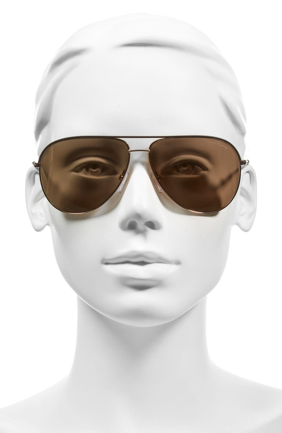 Alternate Image 2  - Tom Ford 'Erin' 61mm Aviator Sunglasses