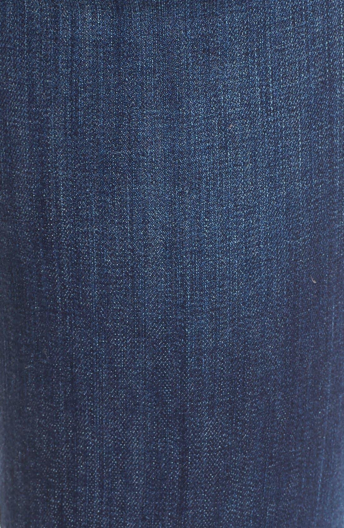 Alternate Image 5  - True Religion Brand Jeans 'Karlie' Bell Bottom Jeans (Worn Vintage)