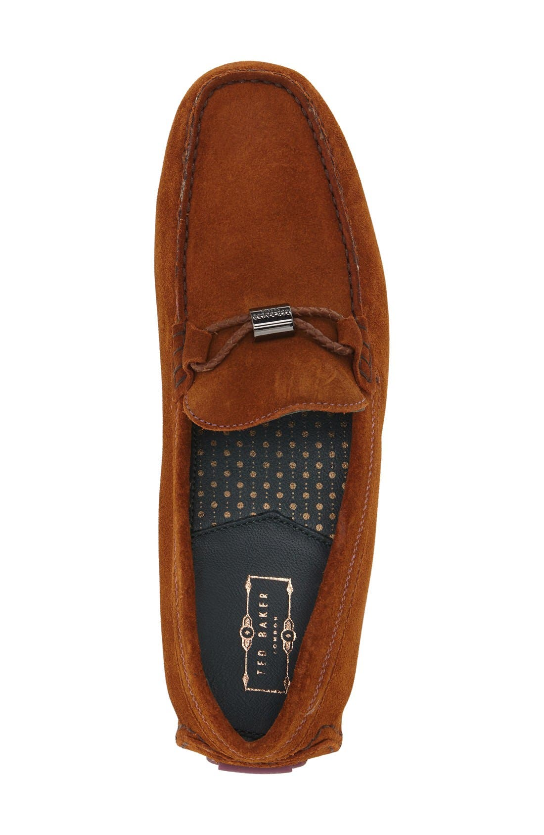 'Carlsun 2' Driving Shoe,                             Alternate thumbnail 3, color,                             Tan Suede