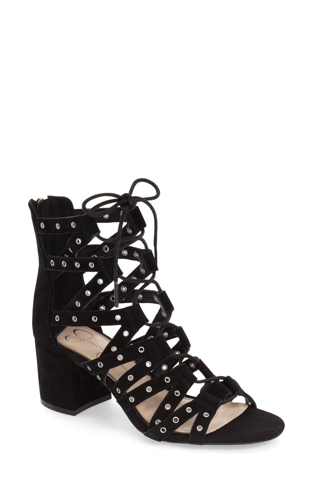 JESSICA SIMPSON Haize Cage Sandal