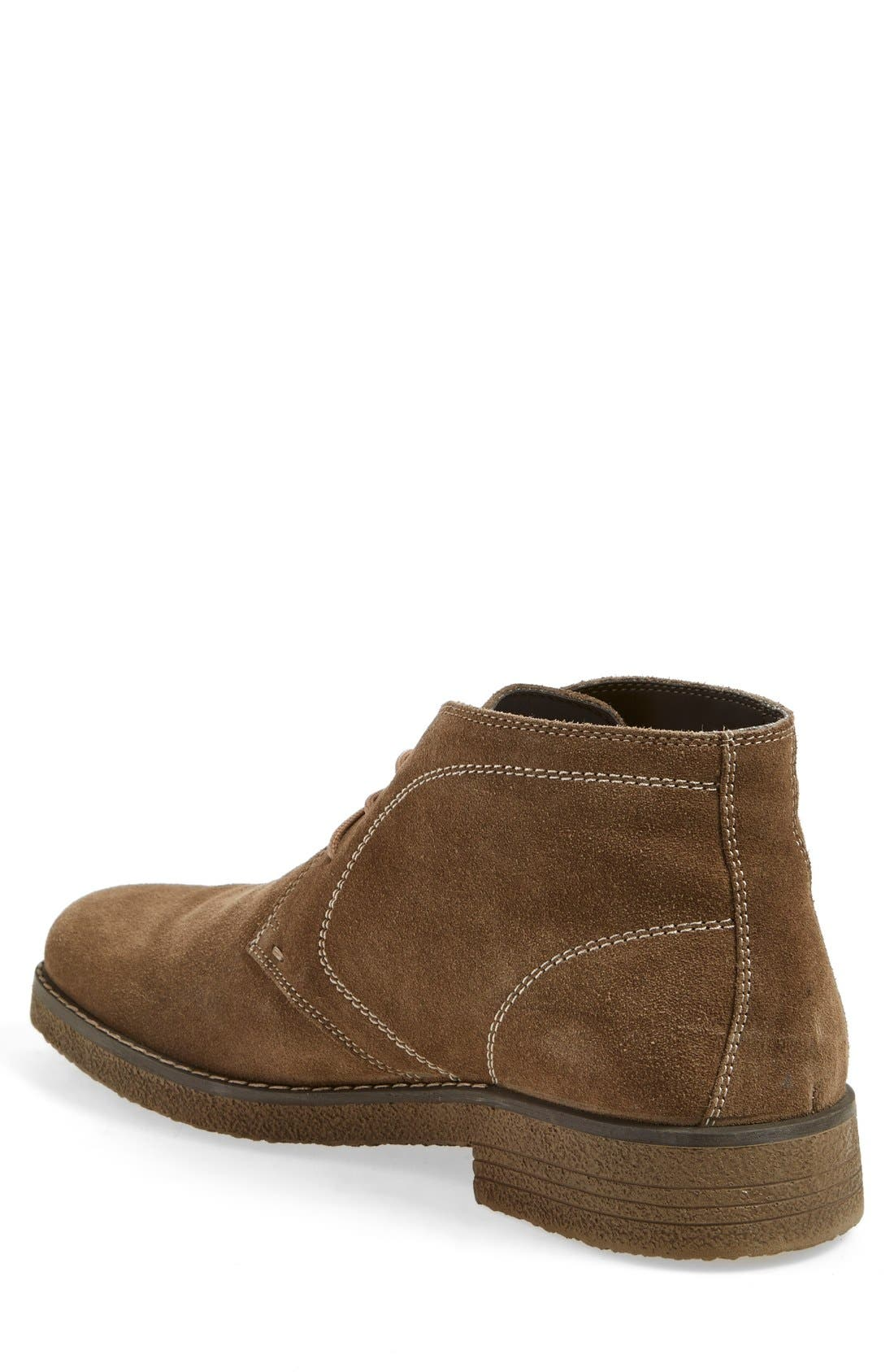'Tyler' Chukka Boot,                             Alternate thumbnail 2, color,                             Taupe Suede