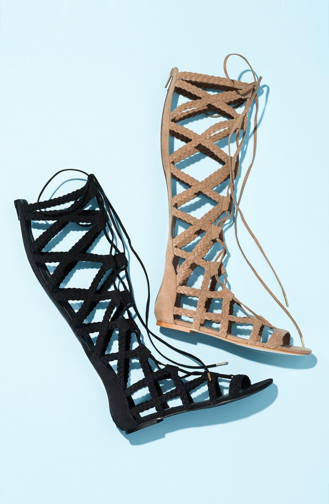 Alternate Image 5  - Steve Madden 'Sammson' Lace-Up Gladiator Sandal (Women)