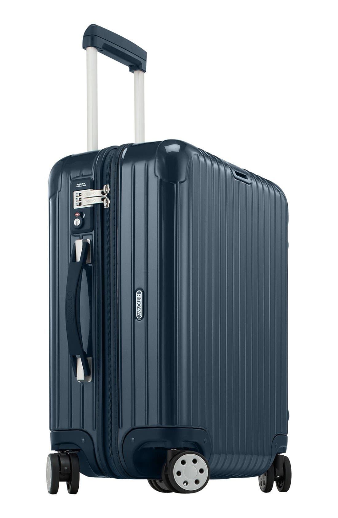Salsa Deluxe 22-Inch Cabin Multiwheel<sup>®</sup> Carry-On,                             Alternate thumbnail 2, color,                             Yachting Blue