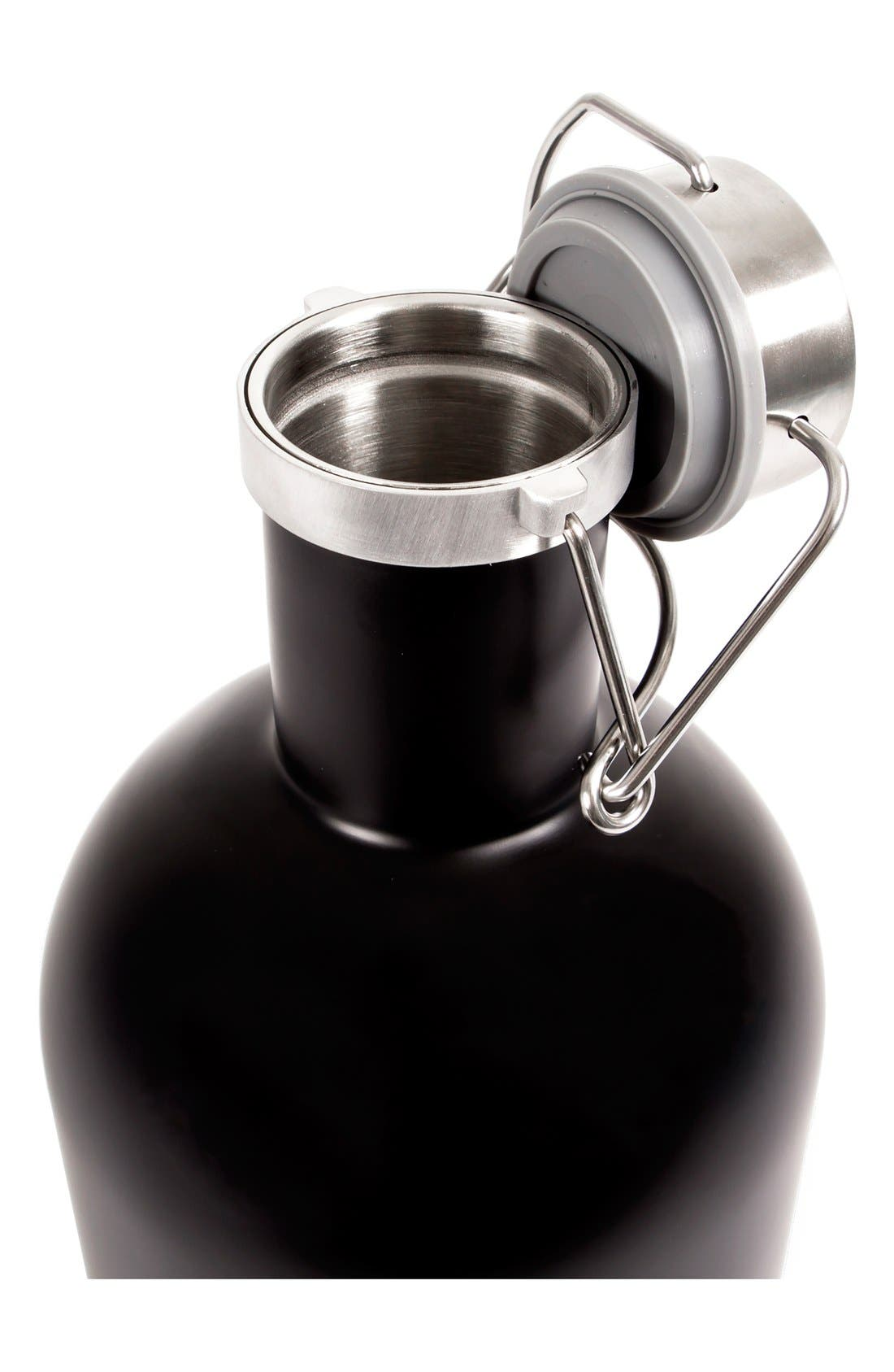 Alternate Image 2  - Cathy's Concepts Monogram Stainless Steel Growler