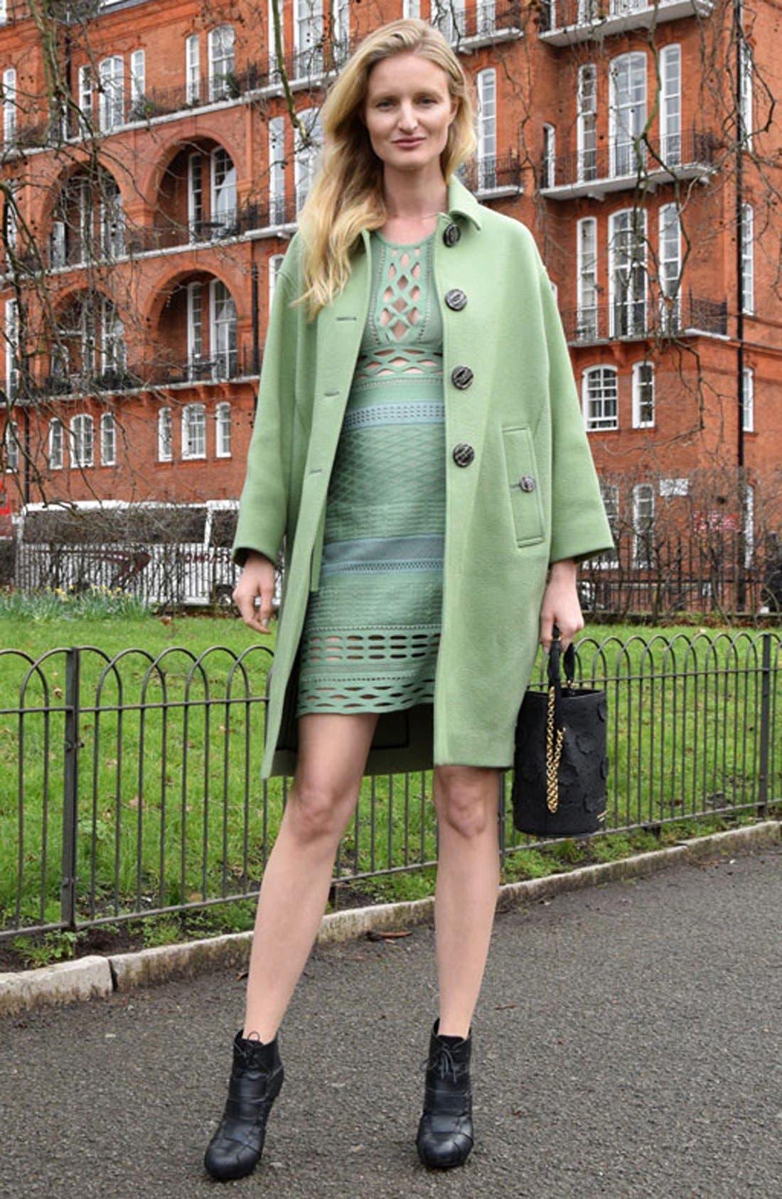 Alternate Image 2  - Burberry Prorsum Cashmere Coat
