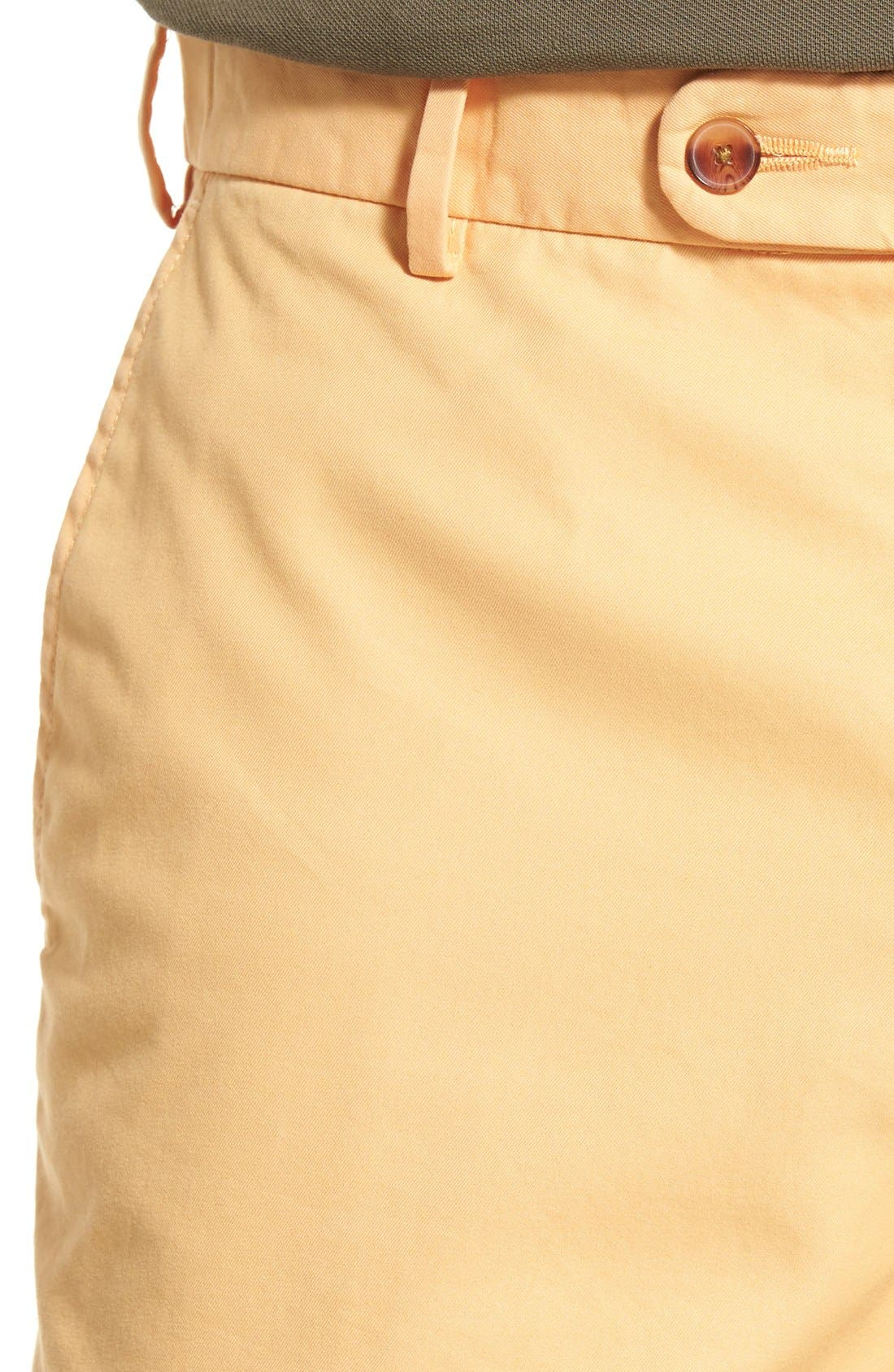 Alternate Image 4  - Peter Millar Pima Cotton Twill Shorts