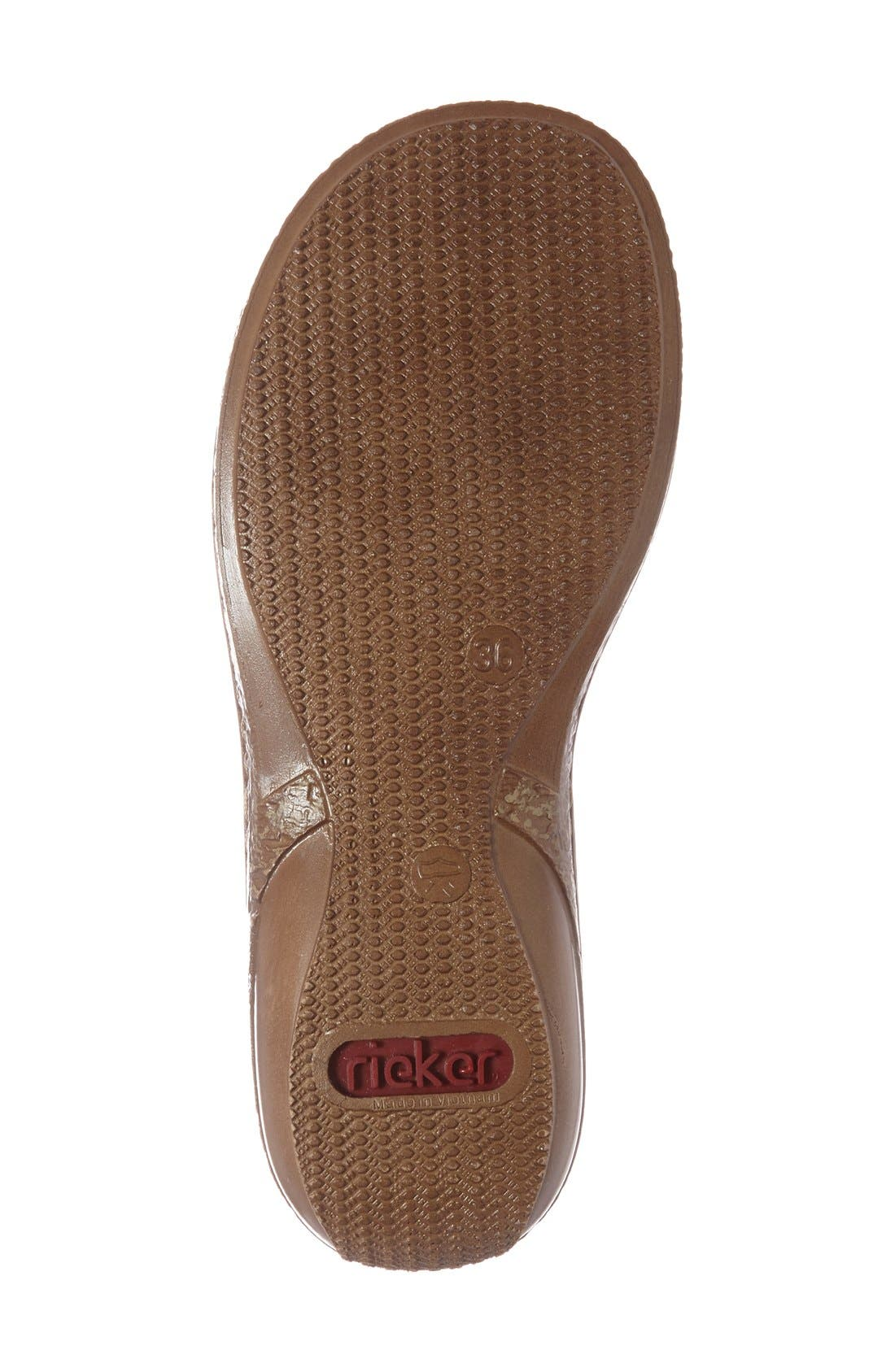 Alternate Image 4  - Rieker Antistress 'Regina' Slide Sandal (Women)