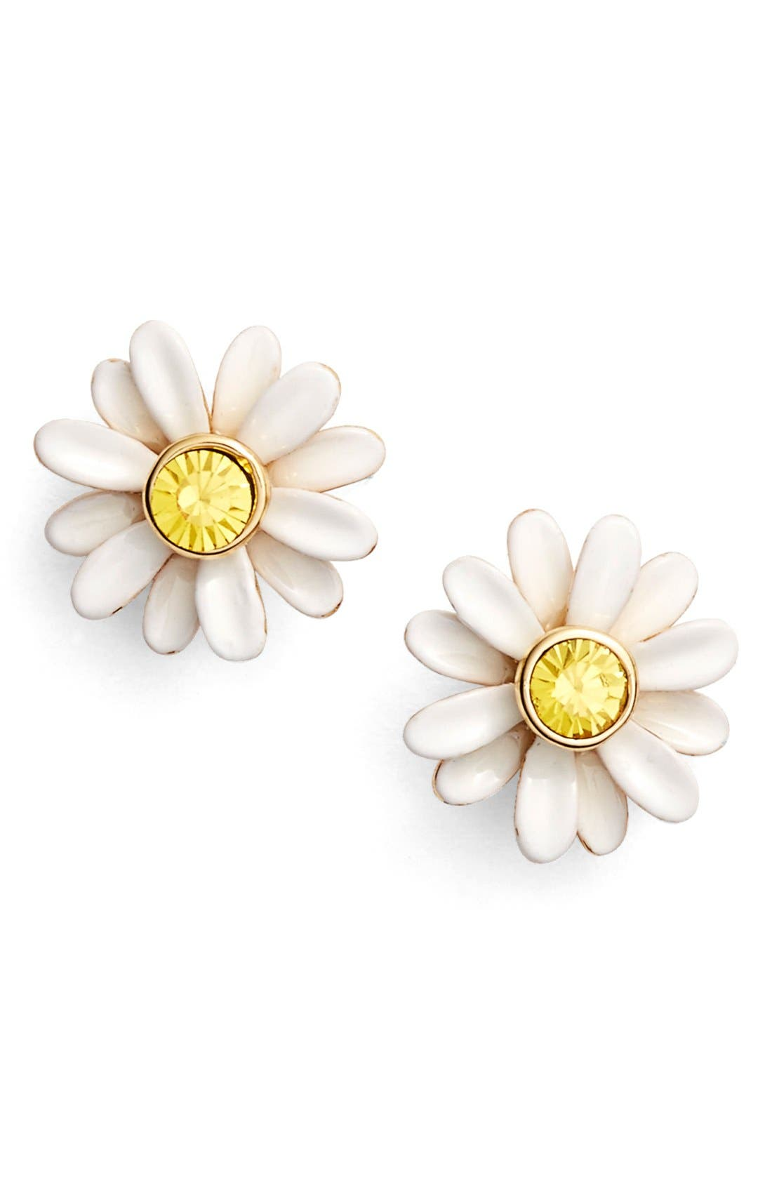 Alternate Image 1 Selected - kate spade new york 'dazzling daisies' stud earrings