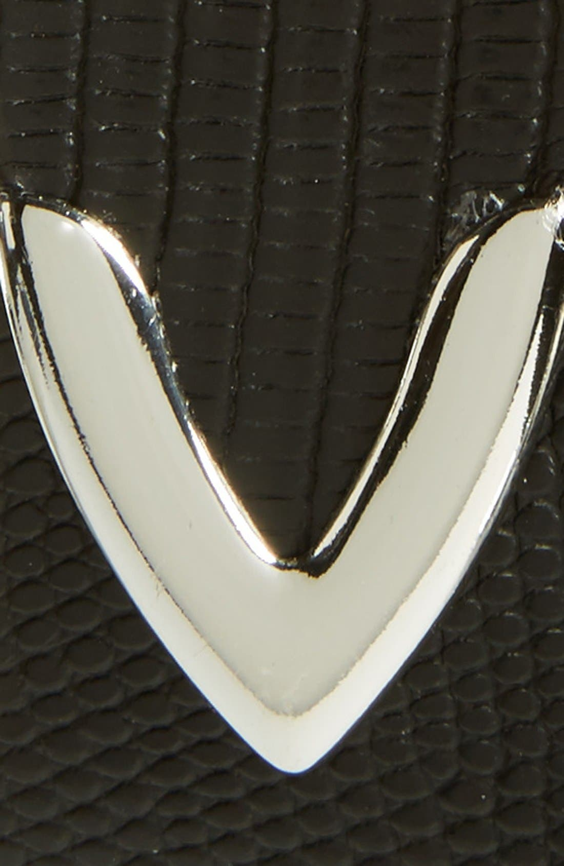'Andre' Leather Belt,                             Alternate thumbnail 2, color,                             Black