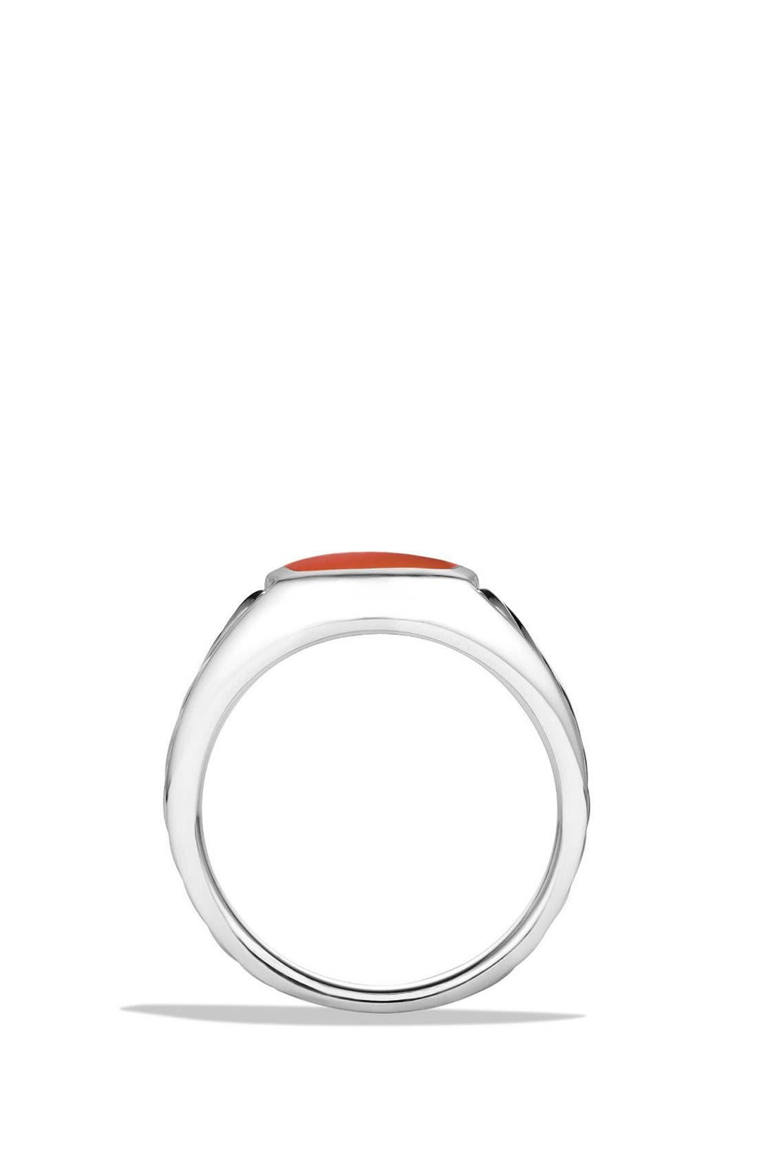 Alternate Image 2  - David Yurman 'Cable Classics' Signet Ring