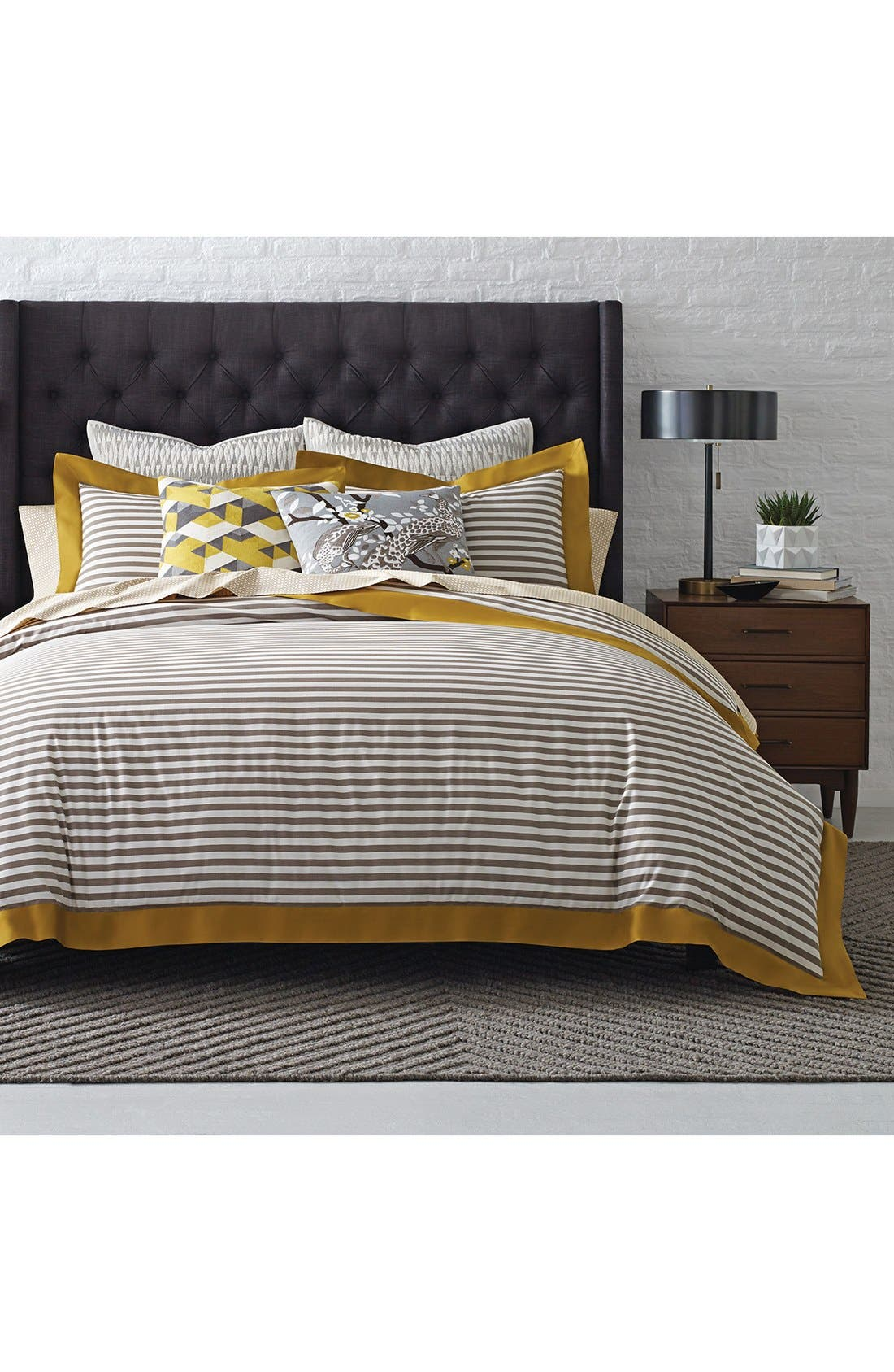 DwellStudio 'Draper Stripe' Duvet Cover