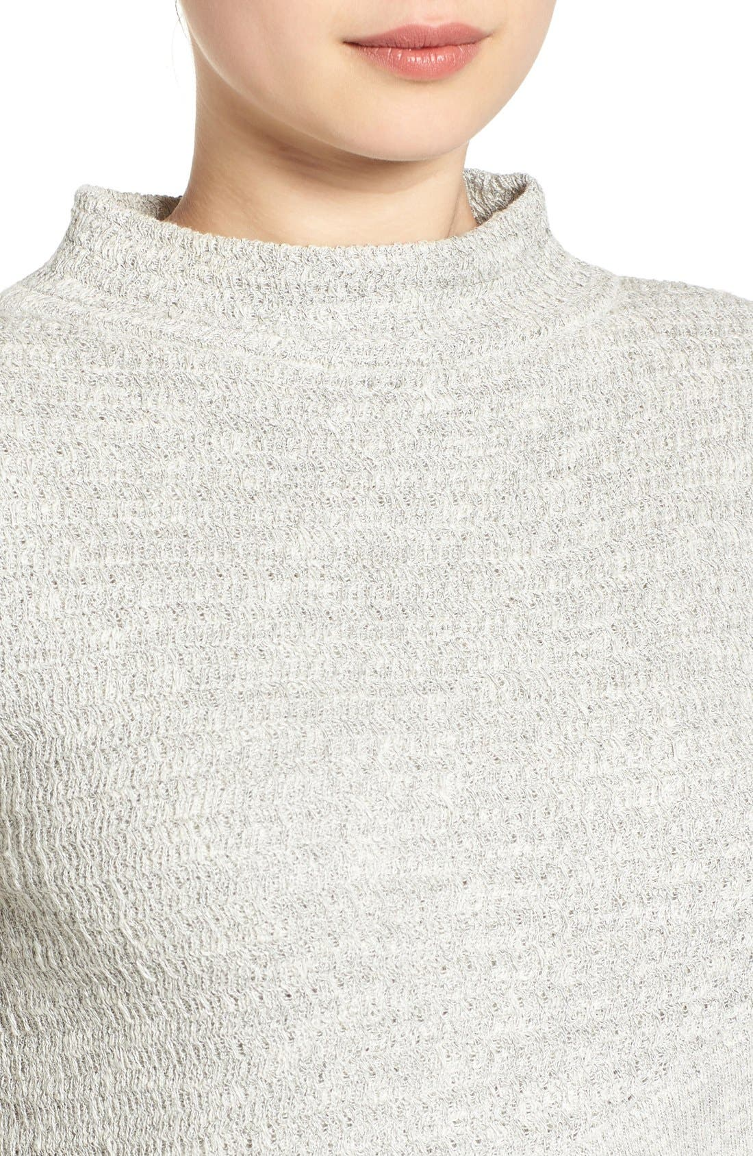 Alternate Image 4  - Free People Crossover Sweater