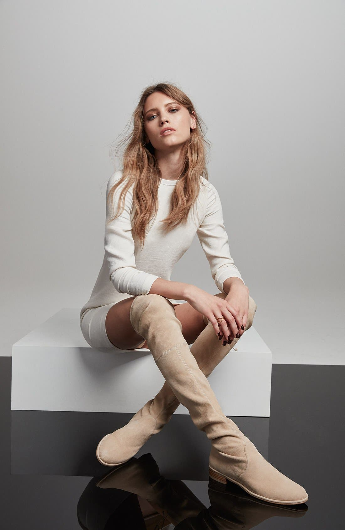 Alternate Image 6  - Stuart Weitzman 'Lowland' Over the Knee Boot (Women)