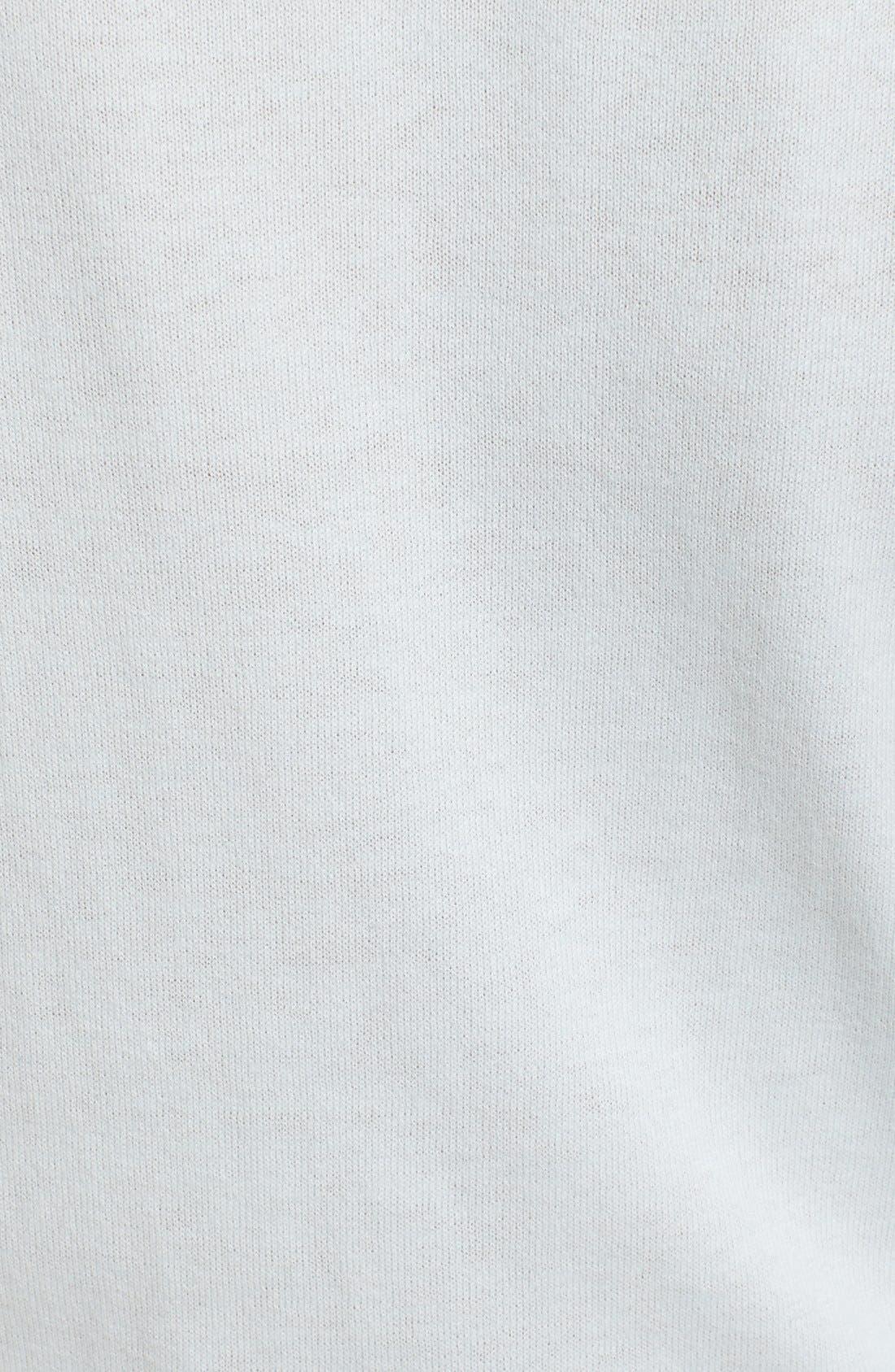 Alternate Image 5  - Ted Baker London Embellished Collar Mesh Sleeve Sweater