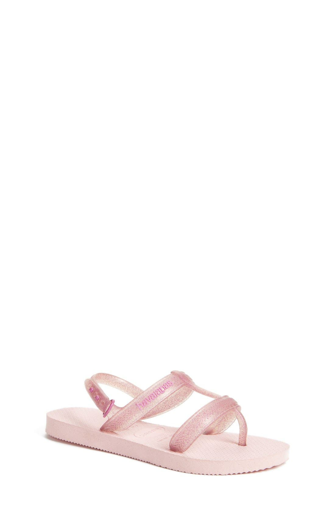 'Joy' Sandal,                             Main thumbnail 1, color,                             Pink