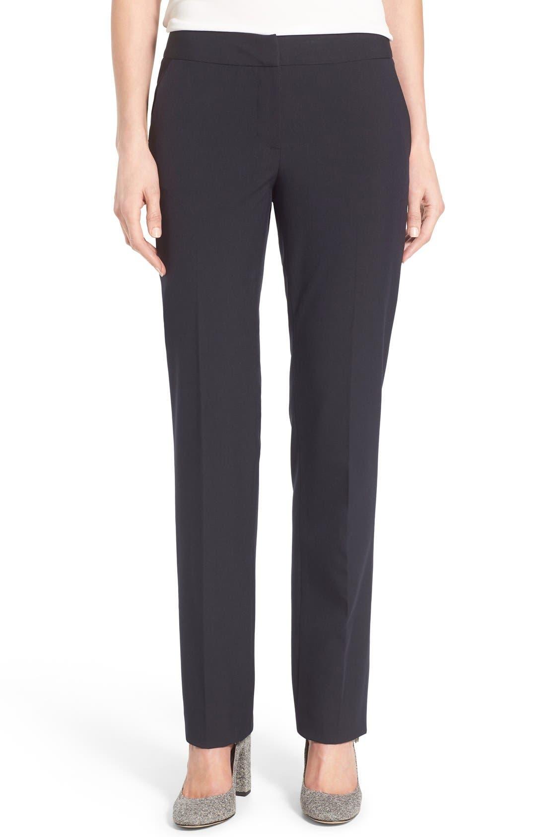 Halogen® 'Taylor - Ela' Straight Leg Suit Pants (Regular & Petite)