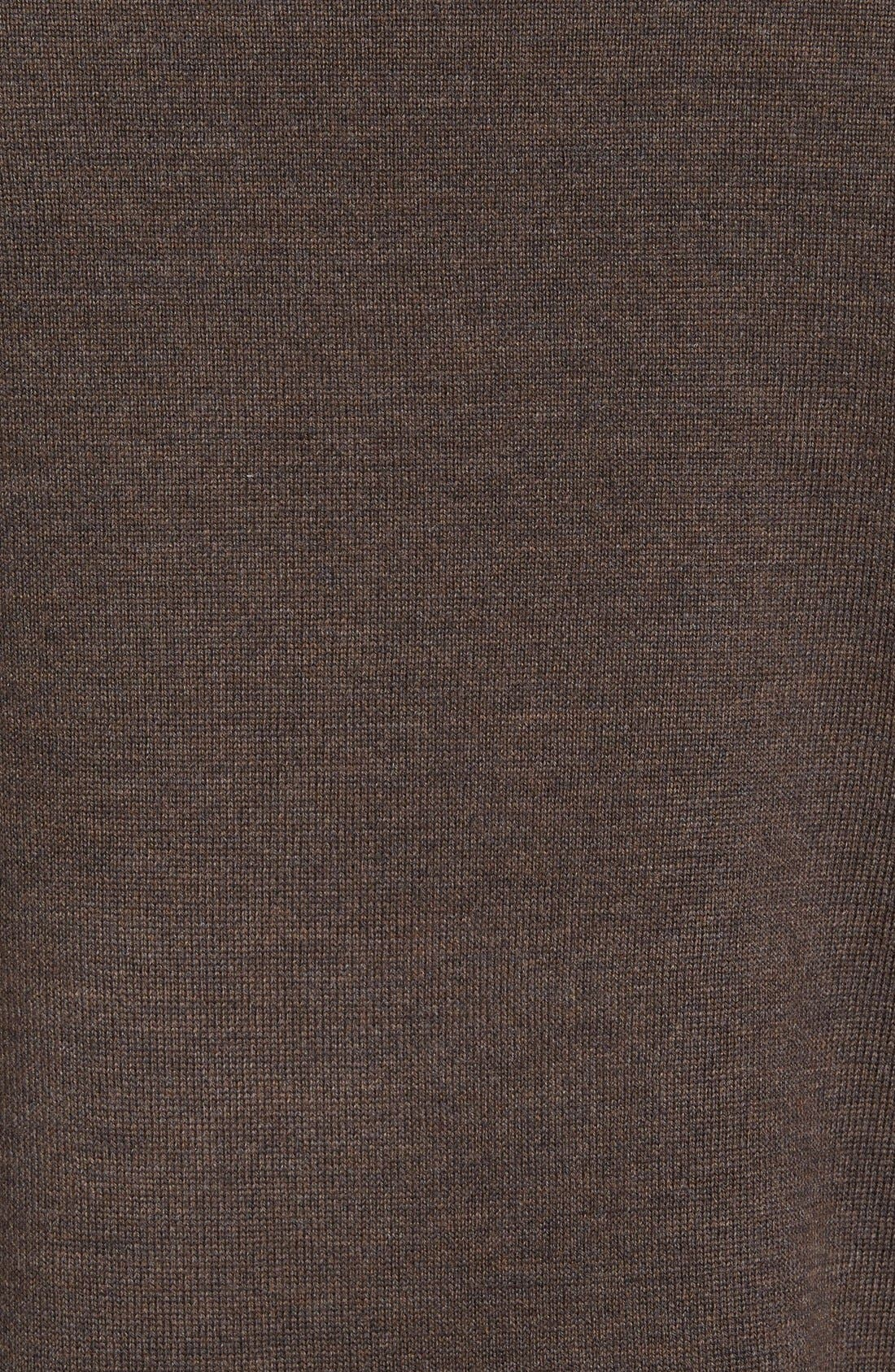 Alternate Image 5  - Nordstrom Mock Neck Merino Wool Sweater (Regular & Tall)