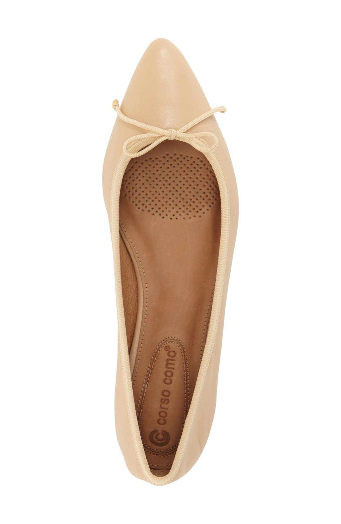 Alternate Image 3  - Corso Como 'Recital' Pointy Toe Flat (Women)