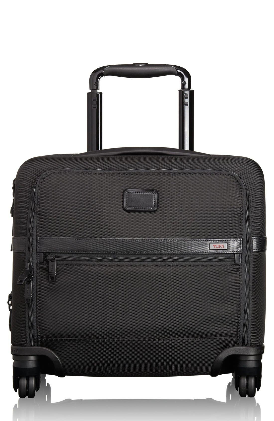 TUMI Alpha 2 Expandable Wheeled Briefcase
