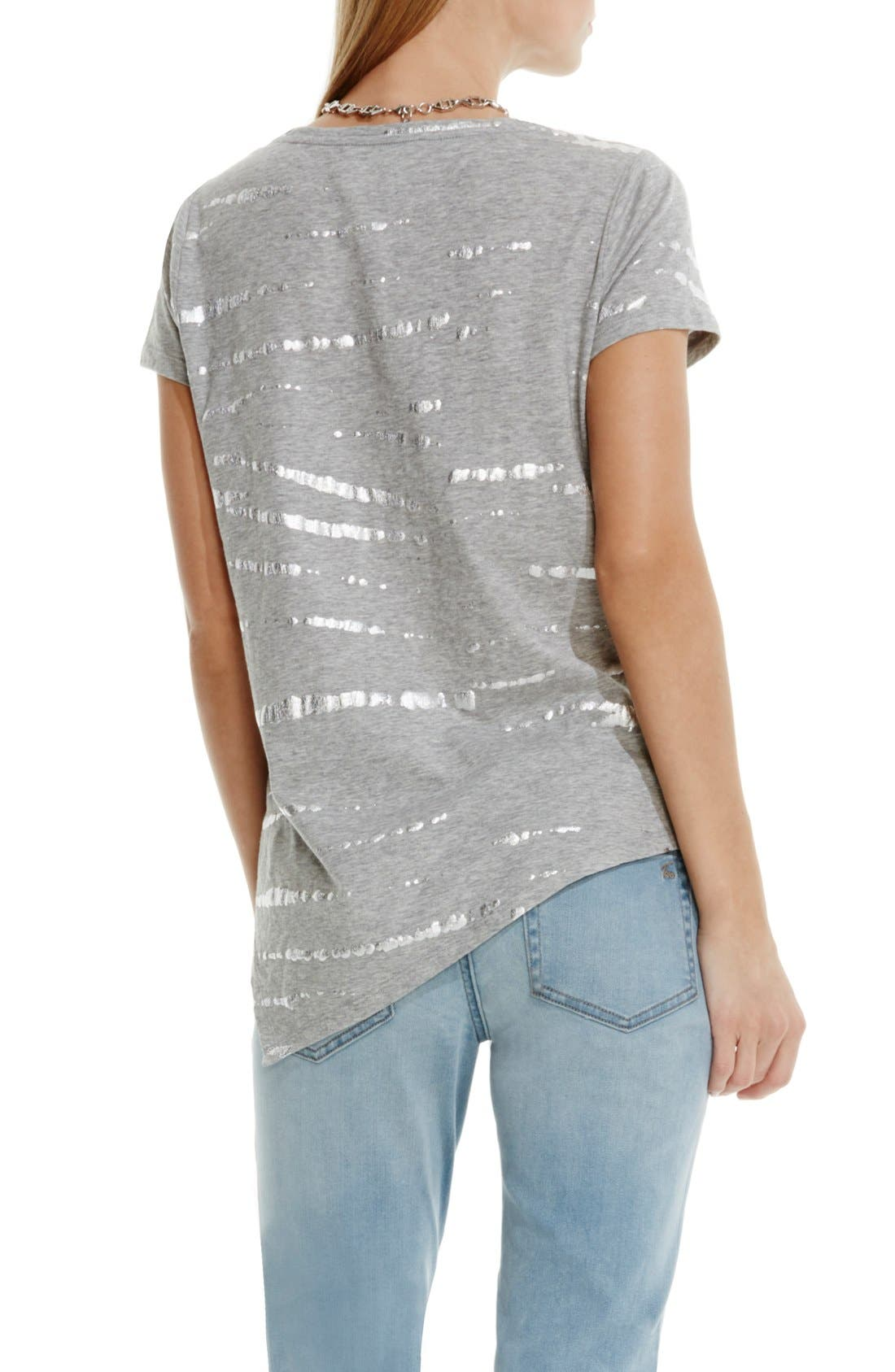 Alternate Image 3  - Two by Vince Camuto Foiled Tie Dye Tee