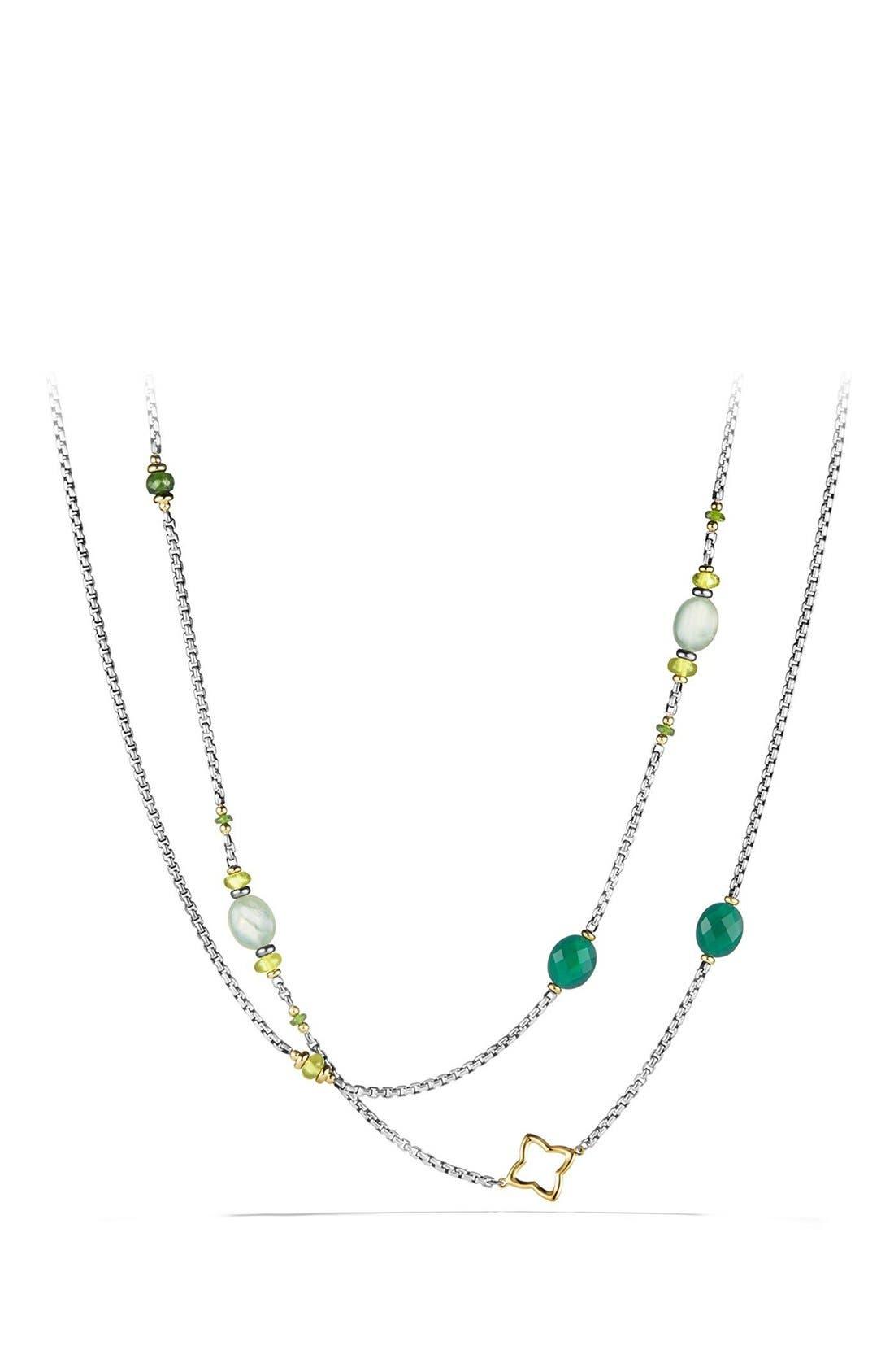 David Yurman 'Bead and Chain' Necklace