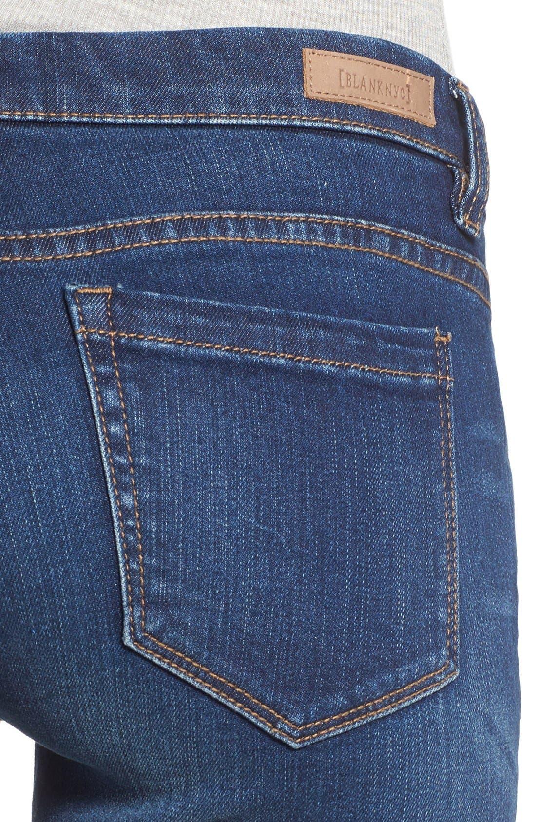 Alternate Image 4  - BLANKNYC 'Buffering' Skinny Jeans (Call it Karma)