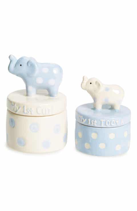 Elegant baby personalized baby gifts nordstrom elegant baby keepsake tooth curl set negle Gallery