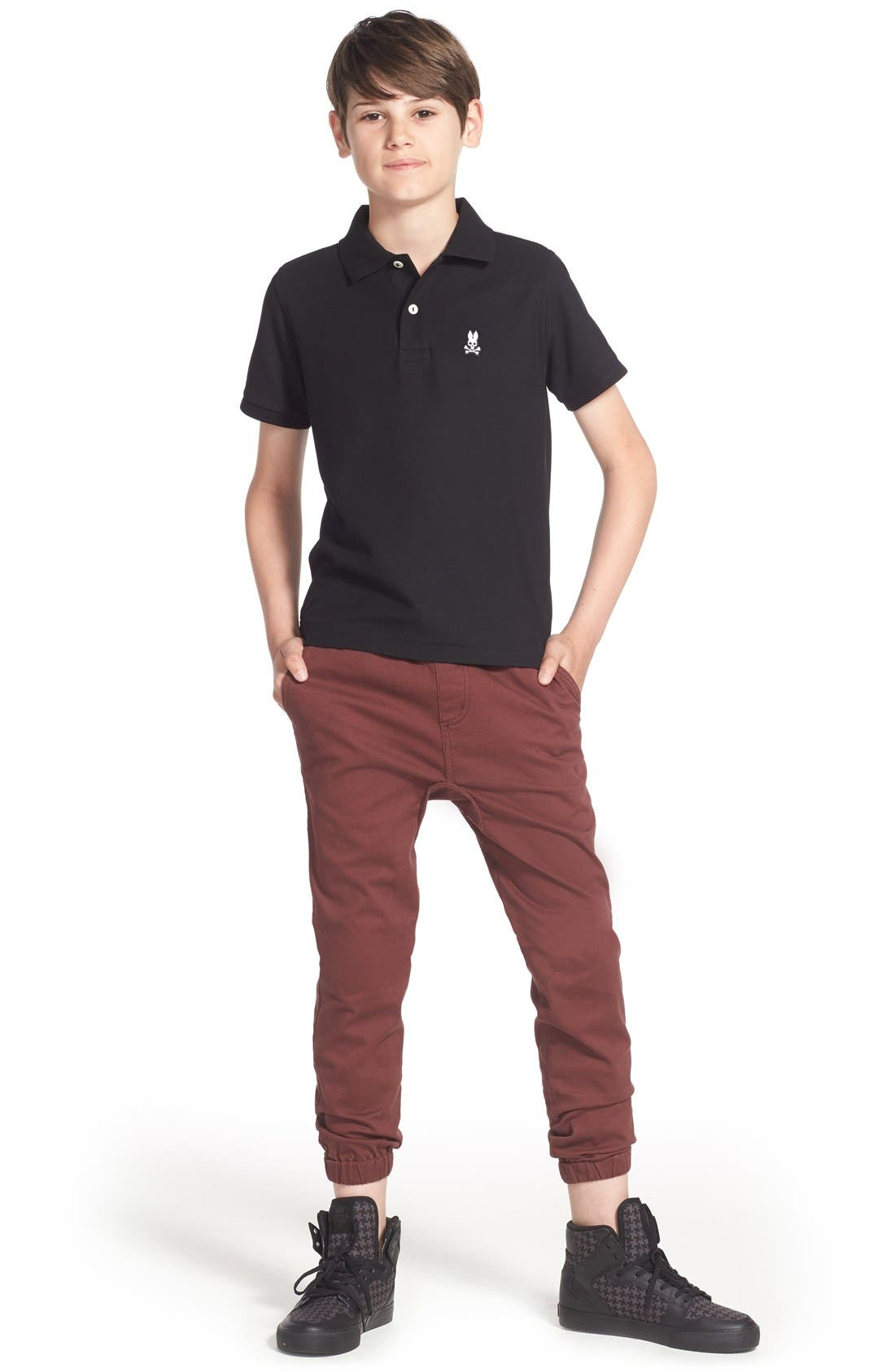 Volcom Polo, Tucker + Tate Jogger Pants & Accessories
