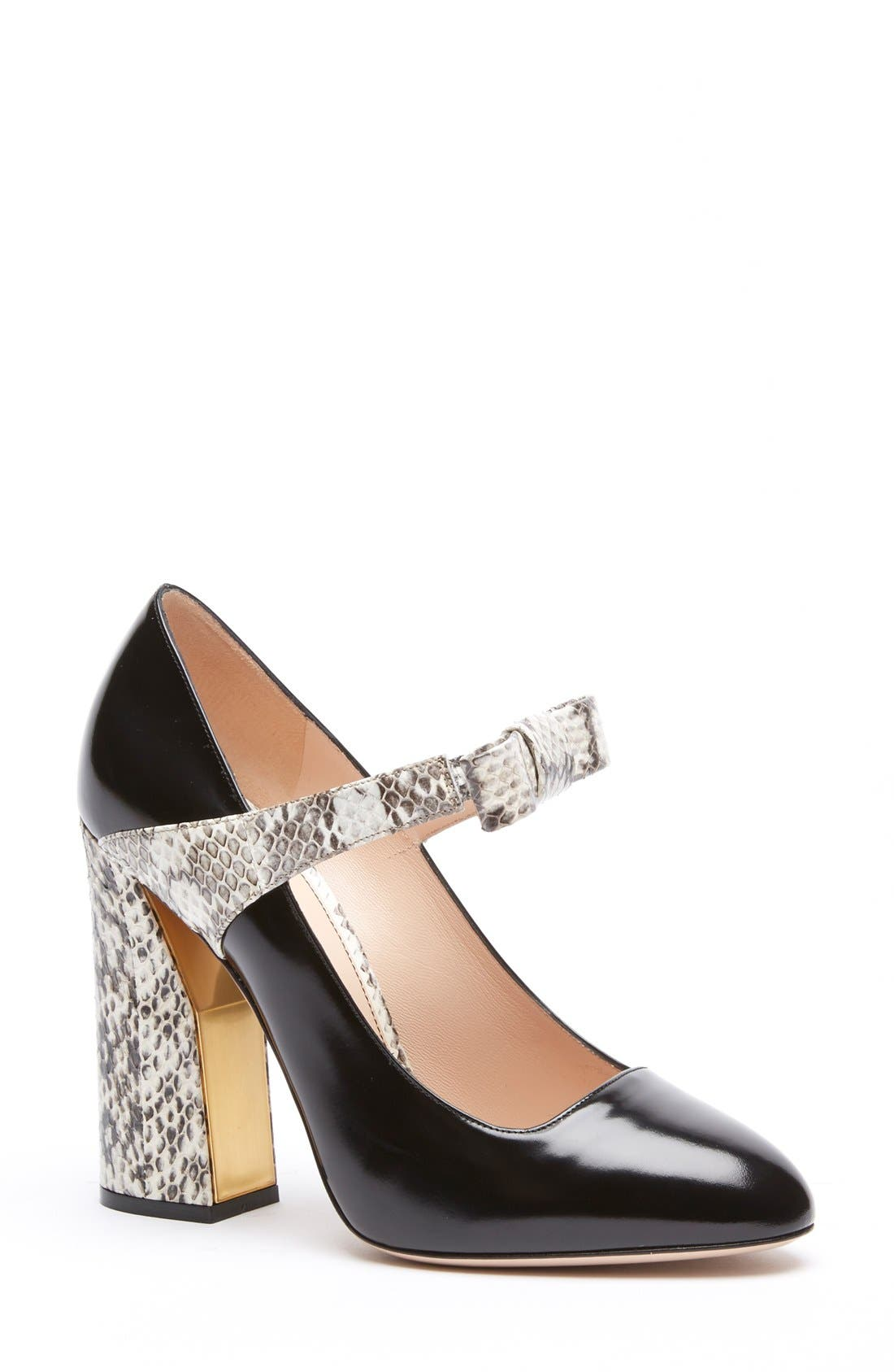 Alternate Image 1 Selected - Gucci 'Nimue' Mary Jane Pump (Women)