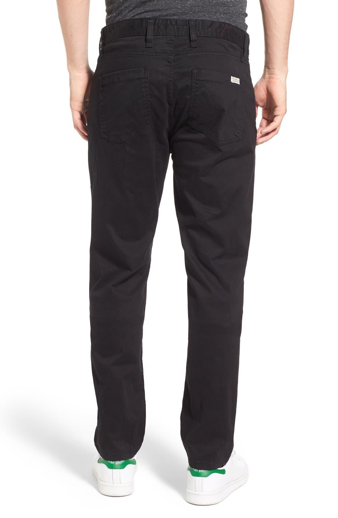 'Silverlake' Pants,                             Alternate thumbnail 2, color,                             Black