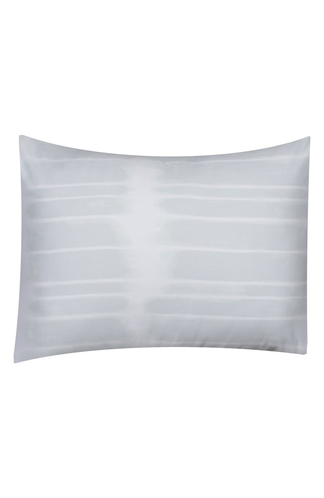 Alternate Image 1 Selected - Vera Wang 'Painted Stripe' Standard Sham