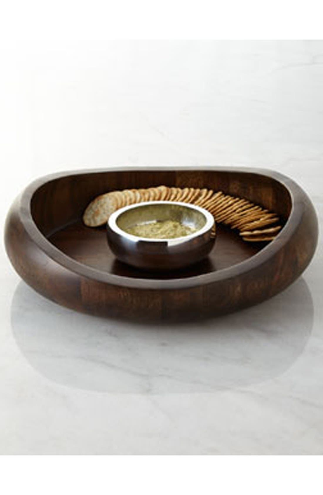 Alternate Image 2  - Nambé 'Butterfly' Chip & Dip Server (Nordstrom Exclusive)
