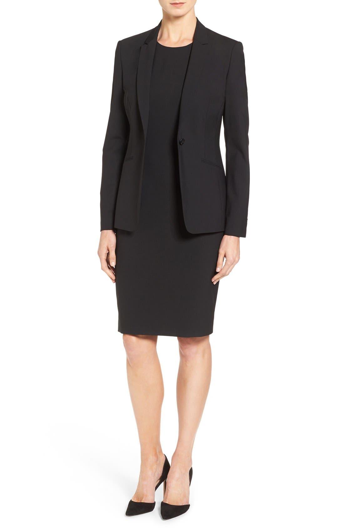BOSS Suit Jacket & Sheath Dress