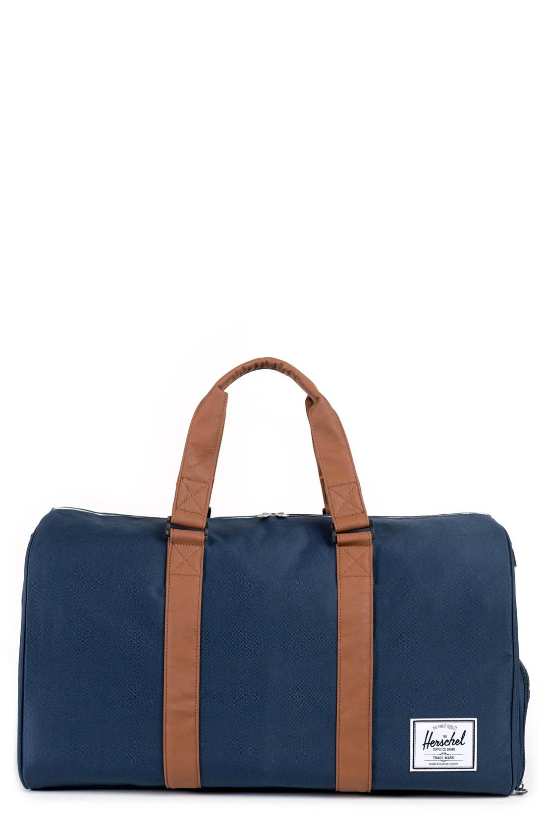 duffel bag - Mens Leather Duffle Bag