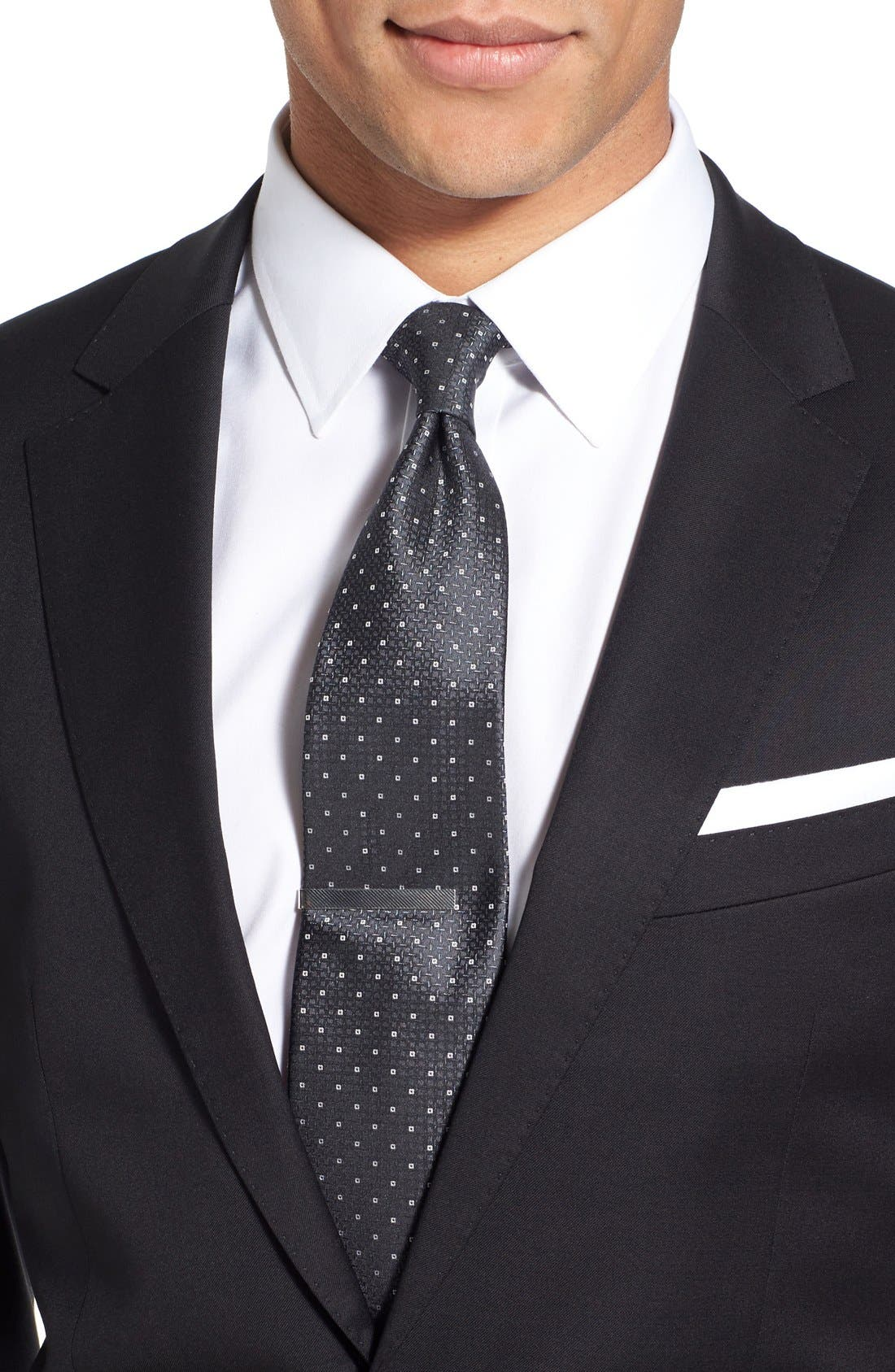 Alternate Image 4  - BOSS Ryan/Win Extra Trim Fit Solid Wool Suit