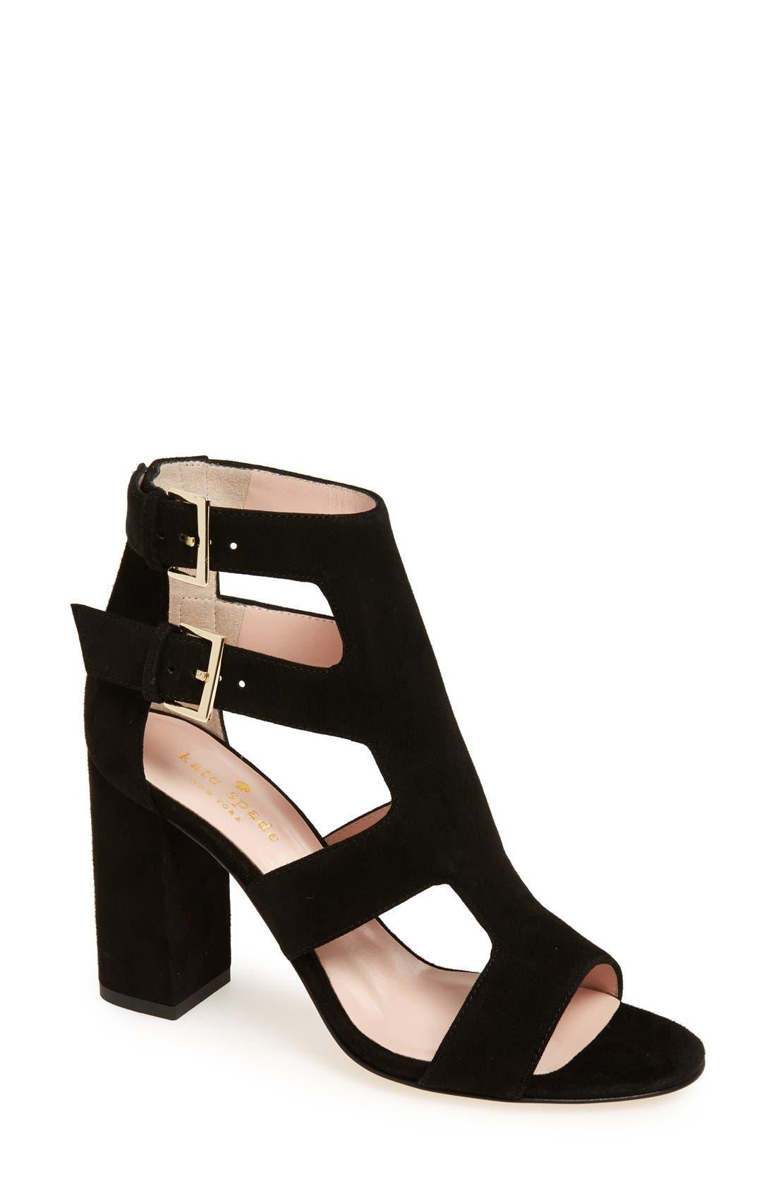 Main Image - kate spade new york 'ilemi' block heel sandal (Women)