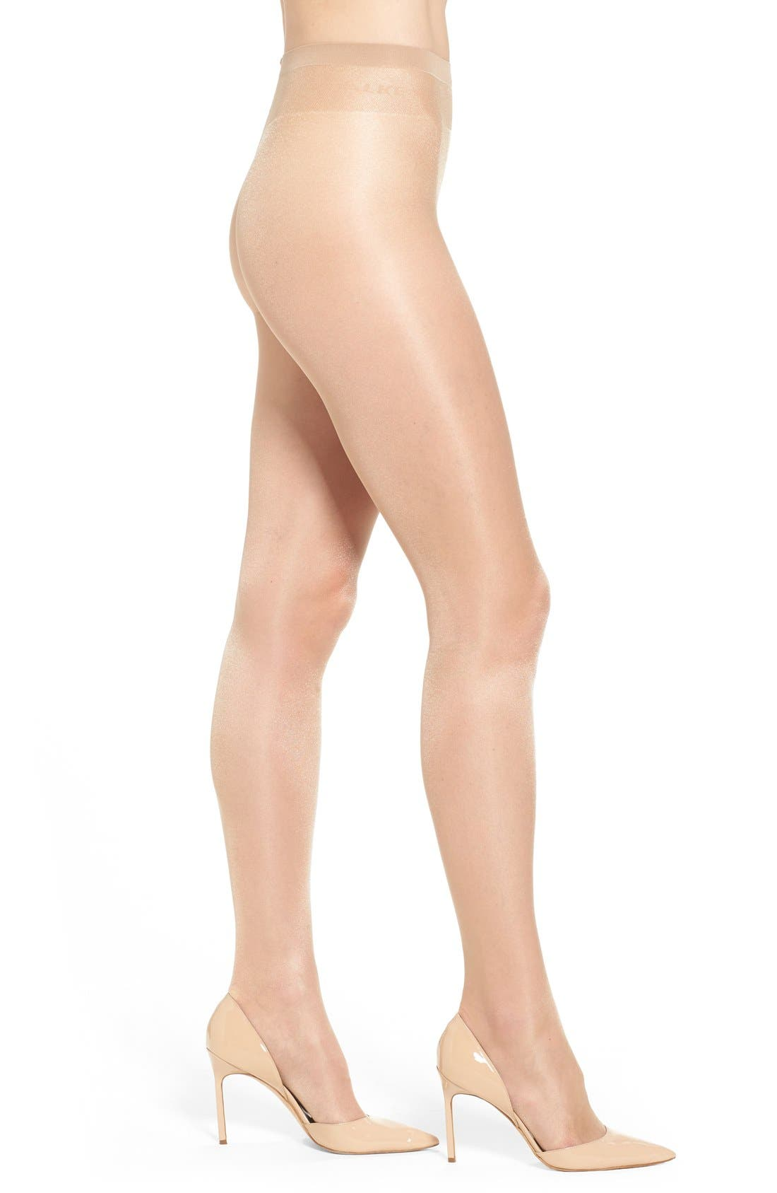 Alternate Image 1 Selected - Falke 'Pure Shine 15 Denier' Stockings